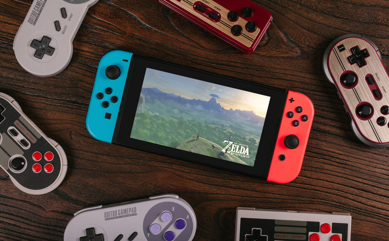 Joysticks da 8Bitdo no Nintendo Switch