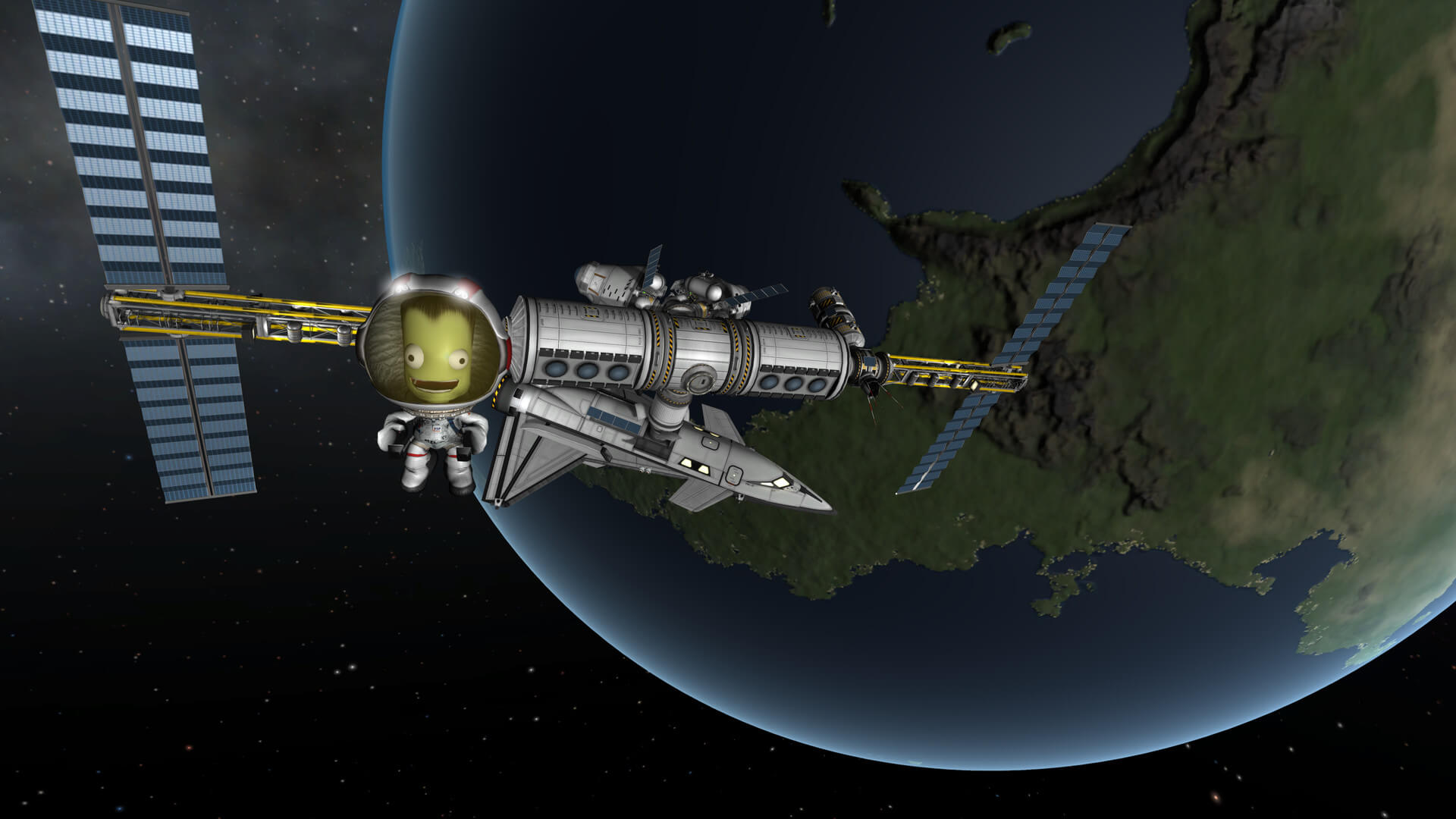Screenshot de Kerbal Space Program