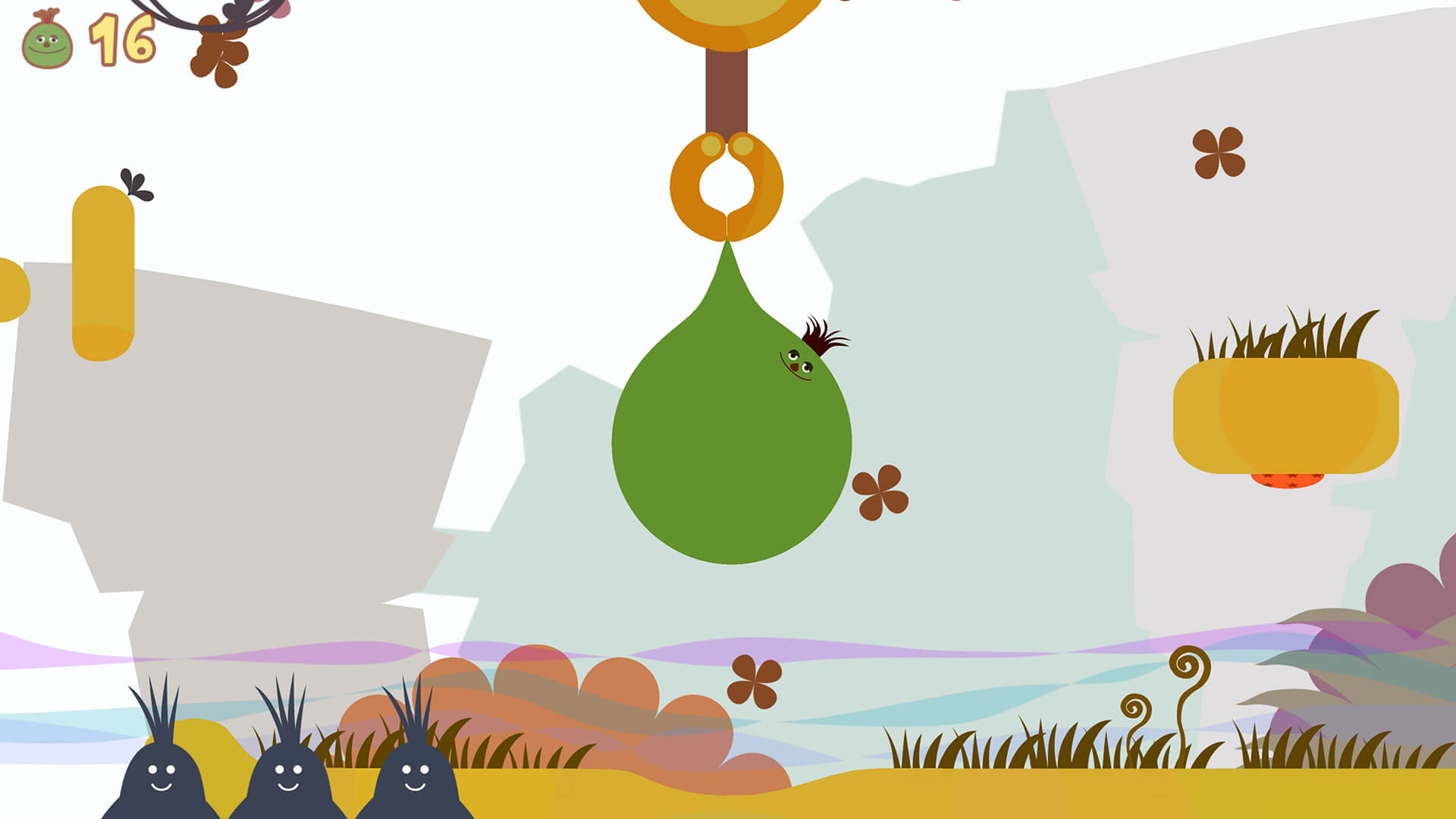 Screenshot de LocoRoco Remastered