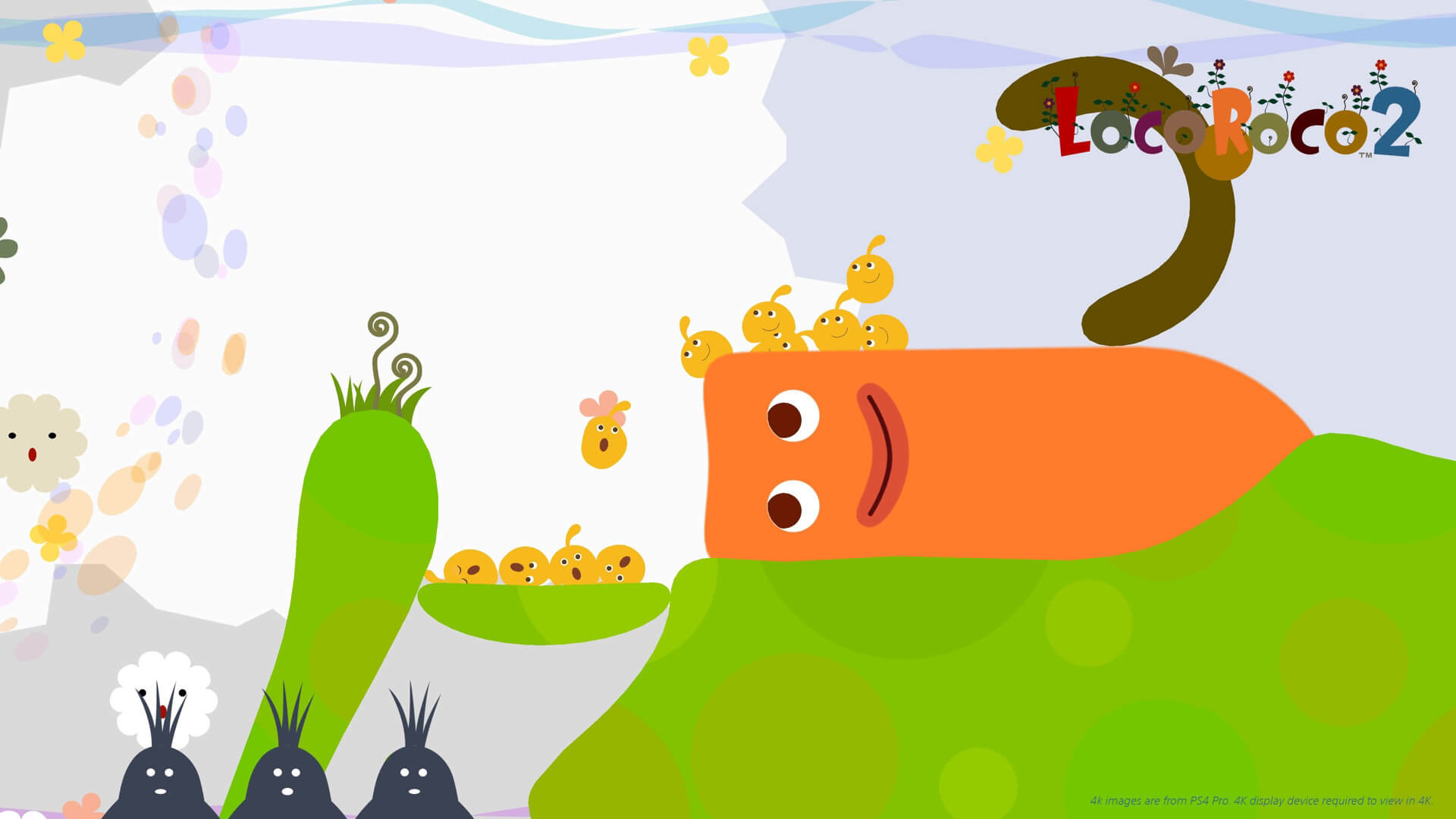 Screenshot de LocoRoco Remastered 2