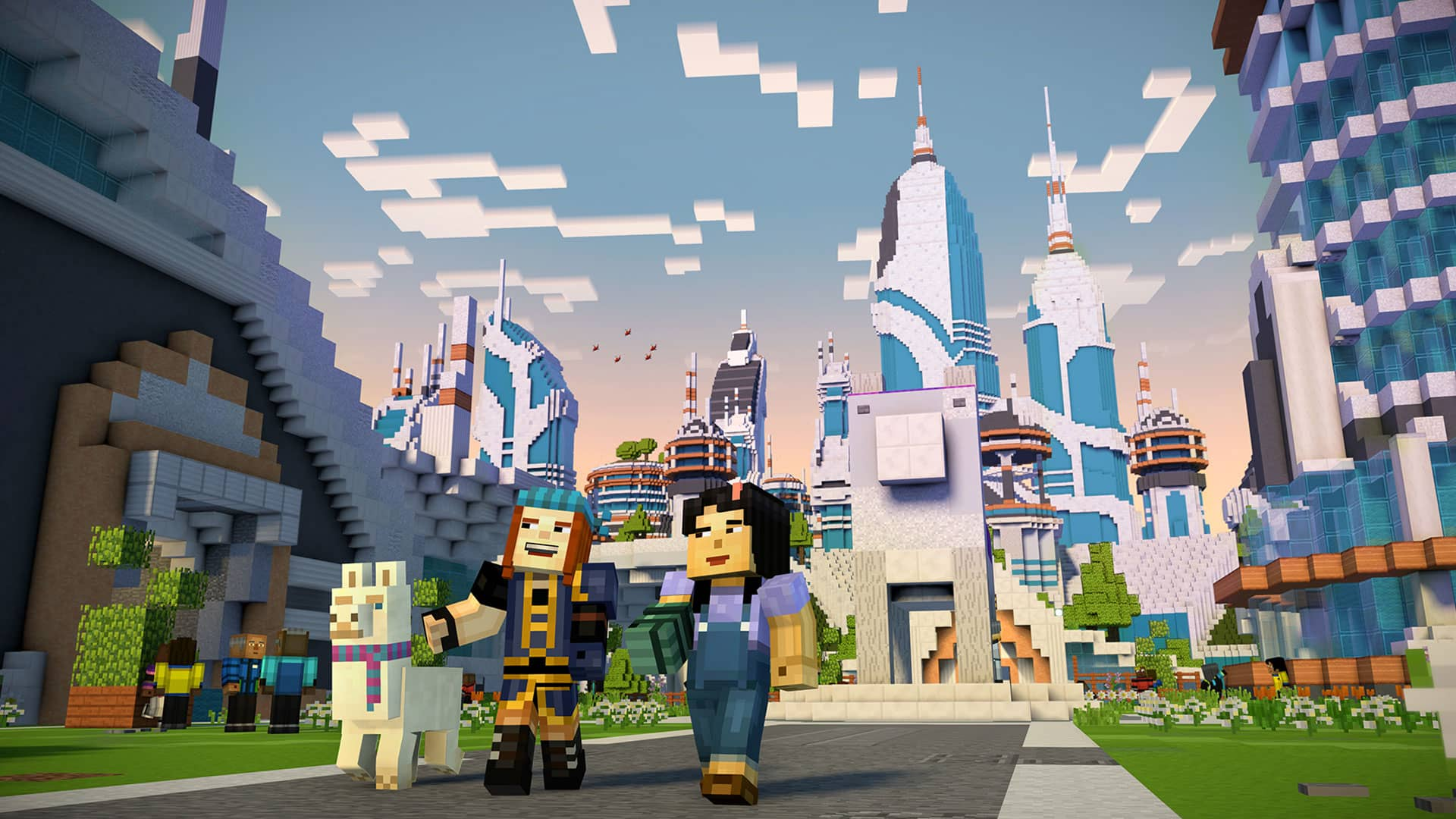 Screenshot de Minecraft: Story Mode - Season 2