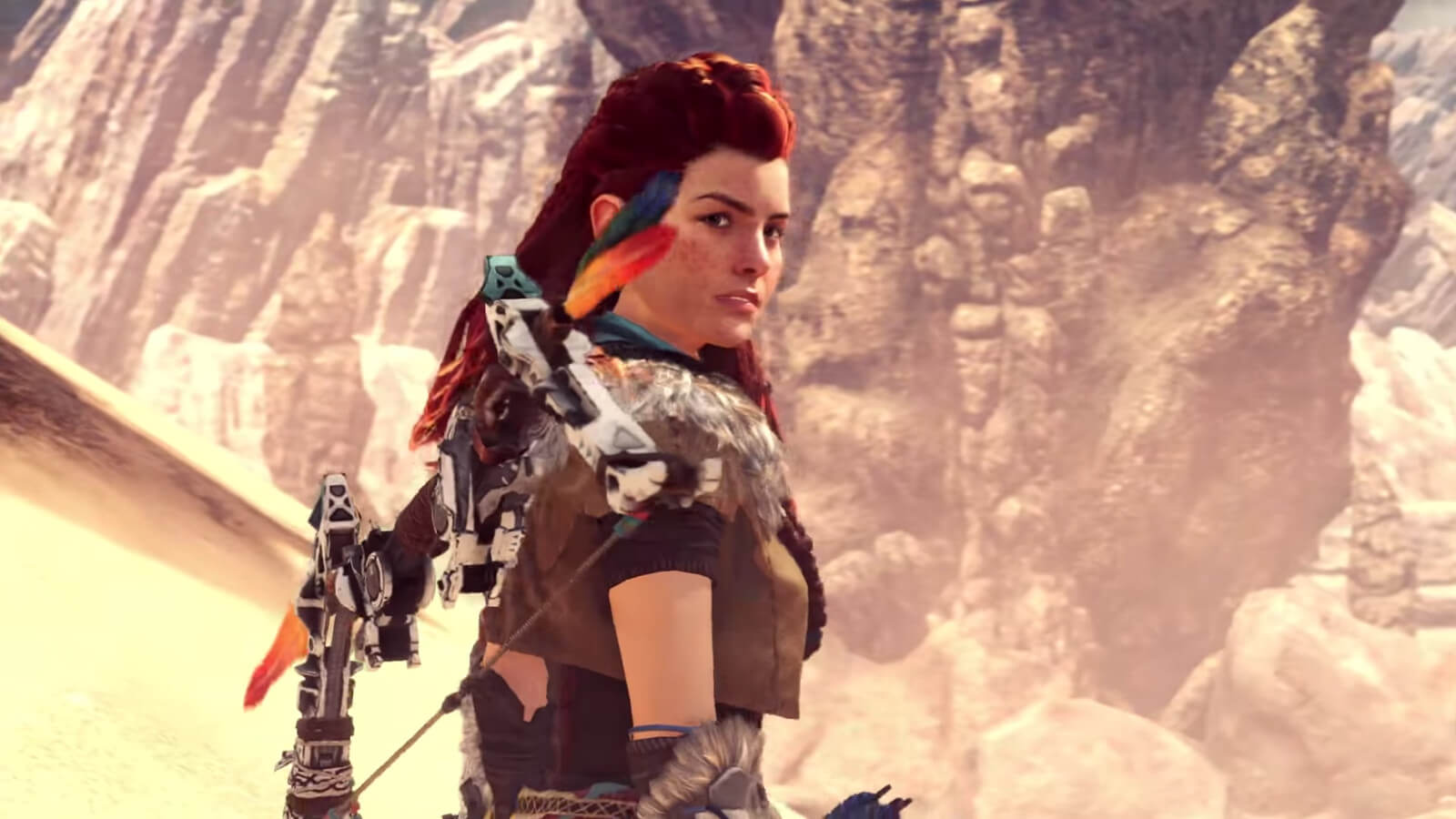 Aloy no Monster Hunter: World