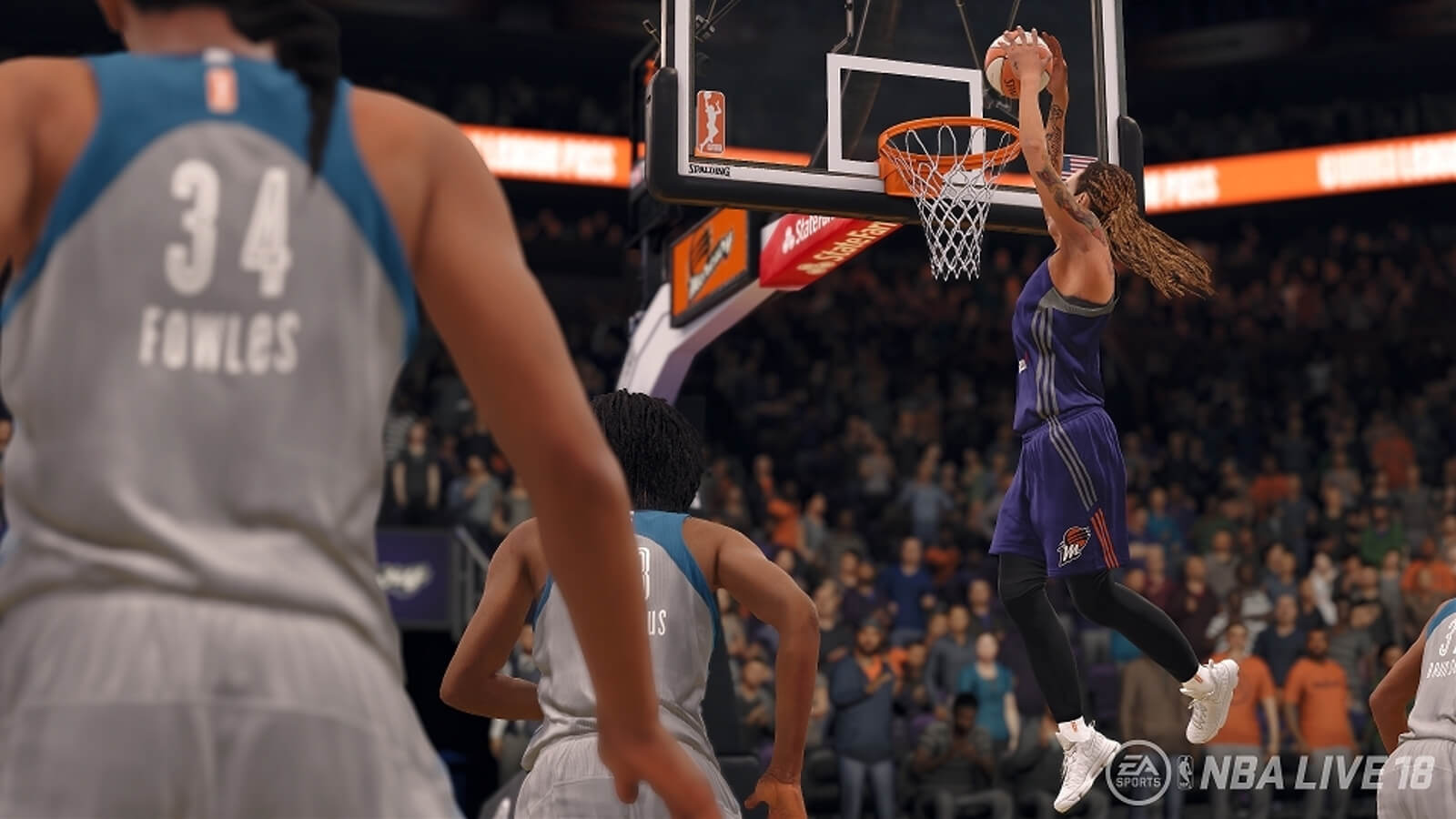 Screenshot de NBA LIVE 18