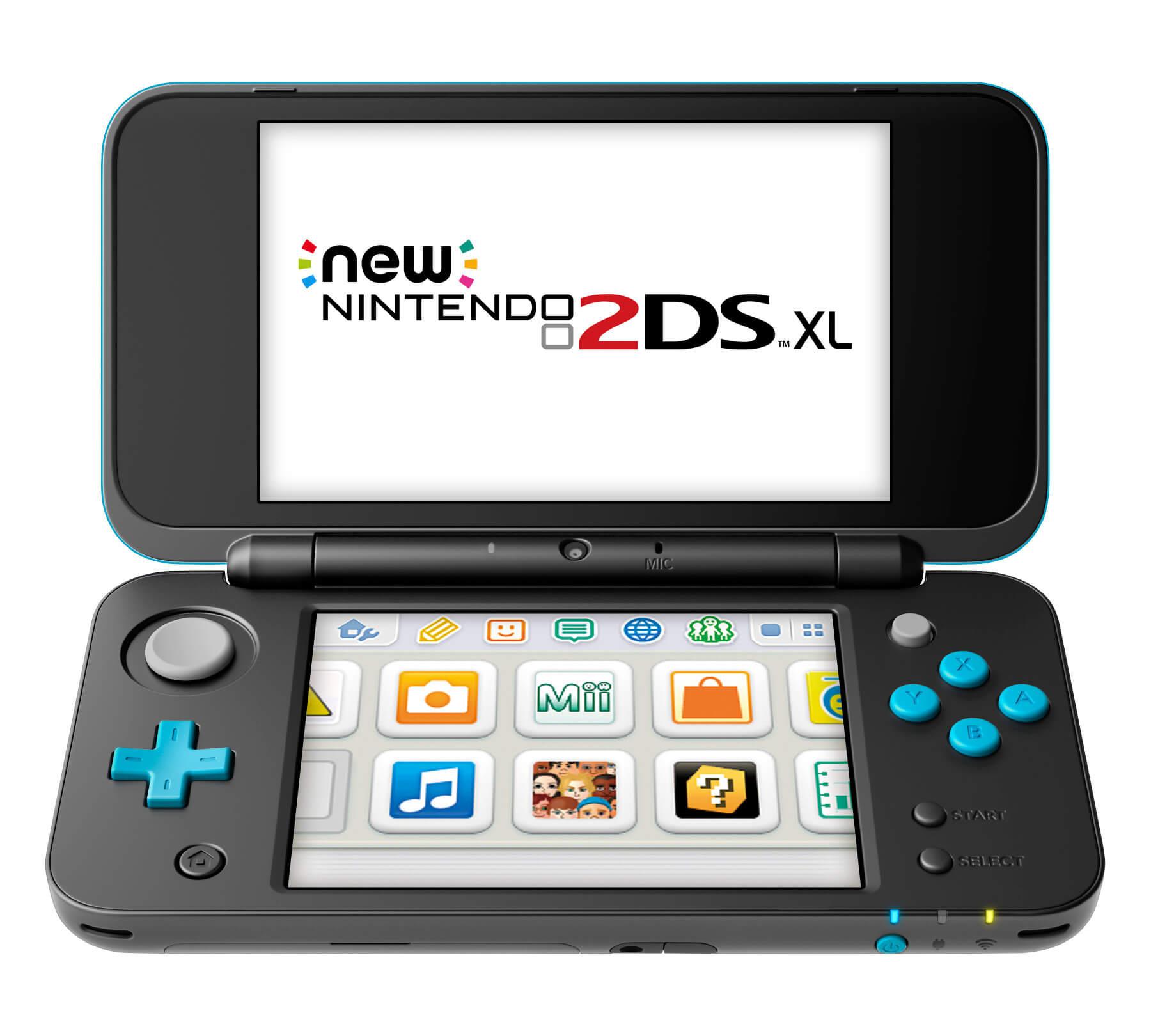 Nintendo revela o New Nintendo 2DS XL