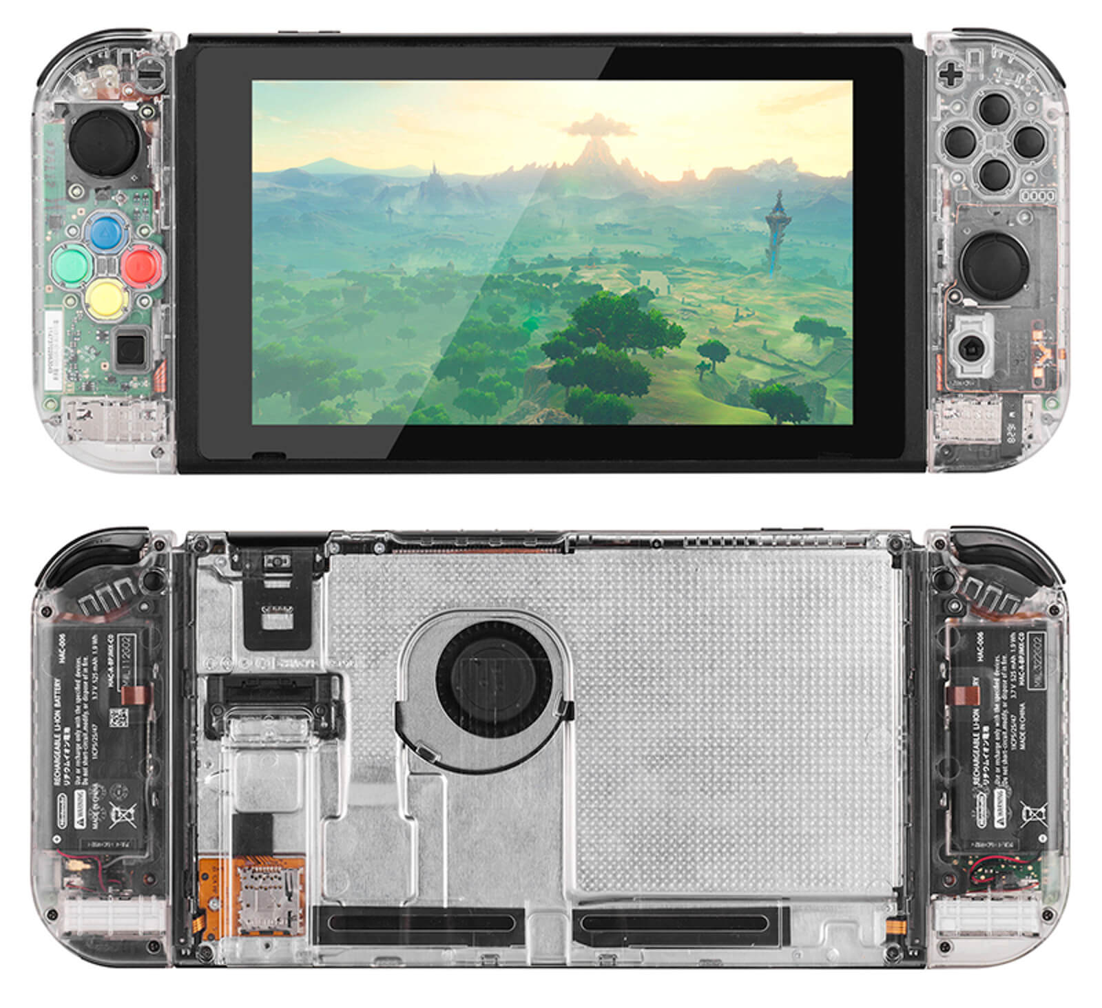 Case transparente para Nintendo Switch