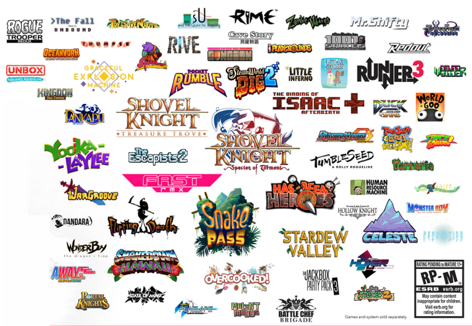 Indies para Nintendo Switch