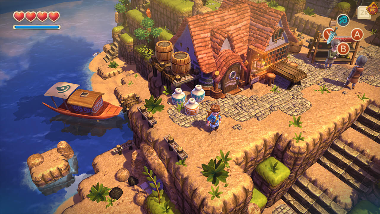 Oceanhorn no Nintendo Switch
