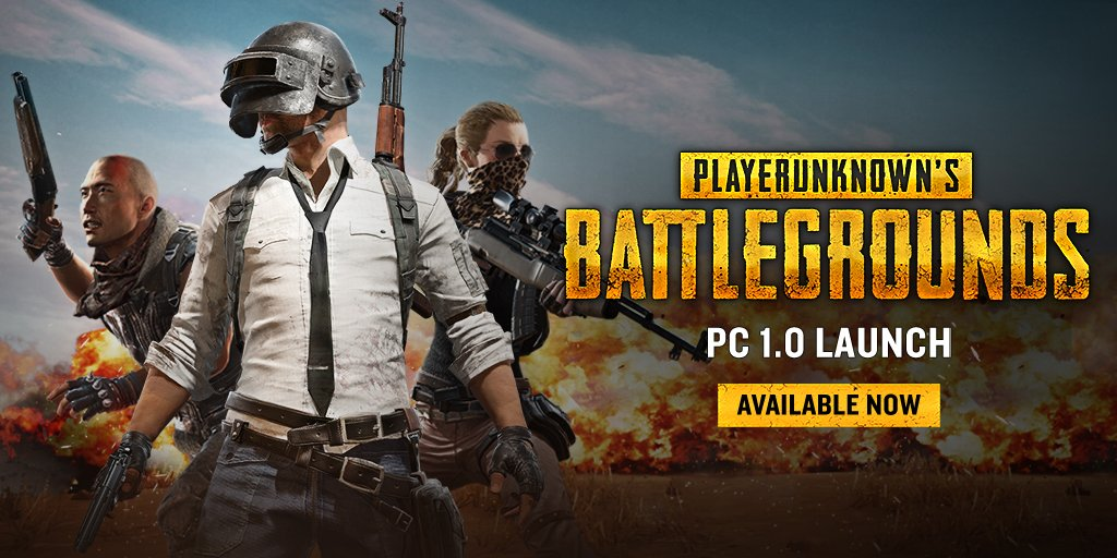 PlayerUnknown's Battlegrounds é lançado oficialmente