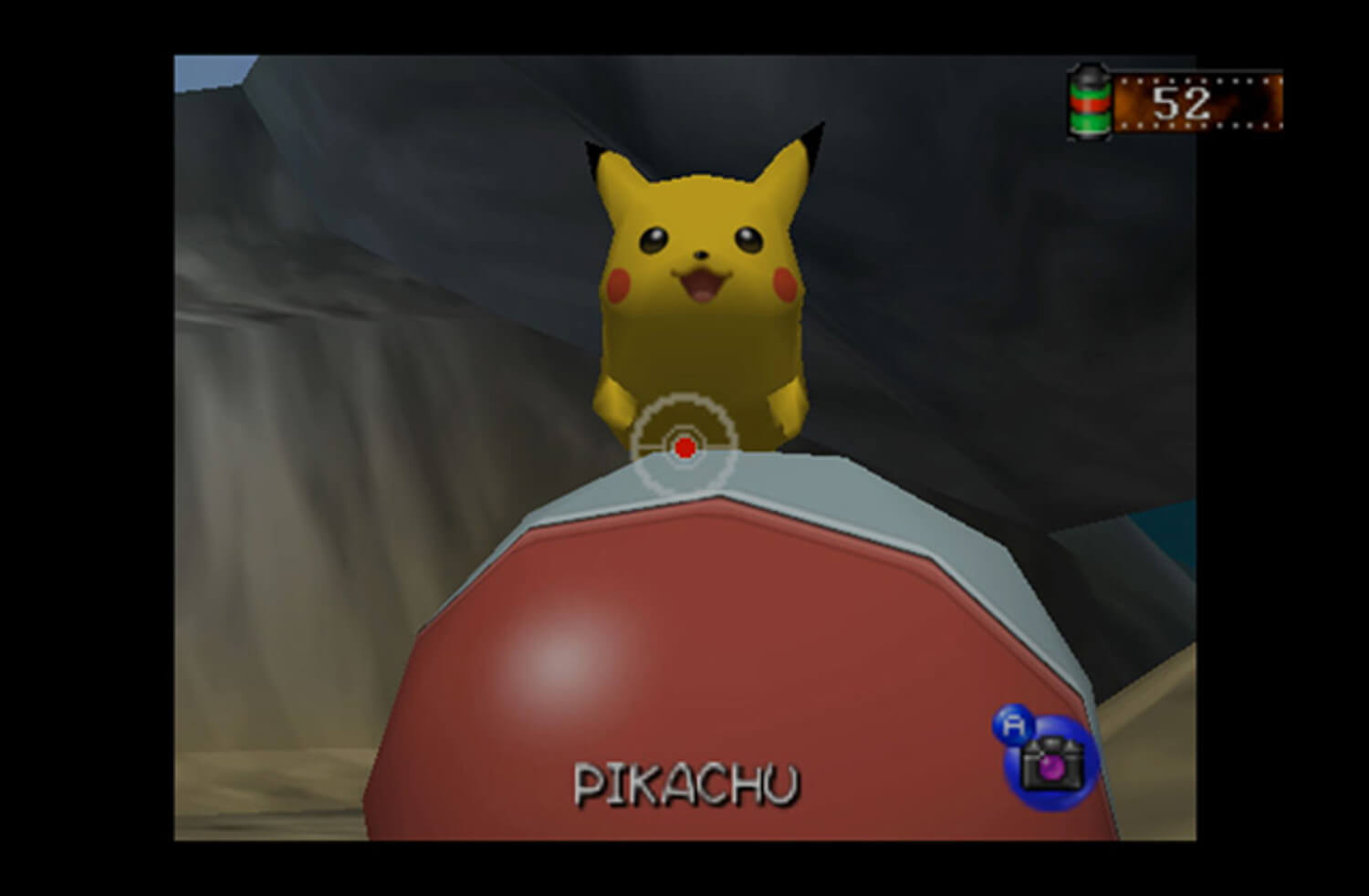 Screenshot de Pokémon Snap