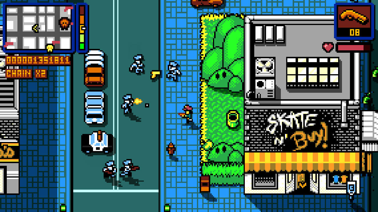 Screenshot de Retro City Rampage DX