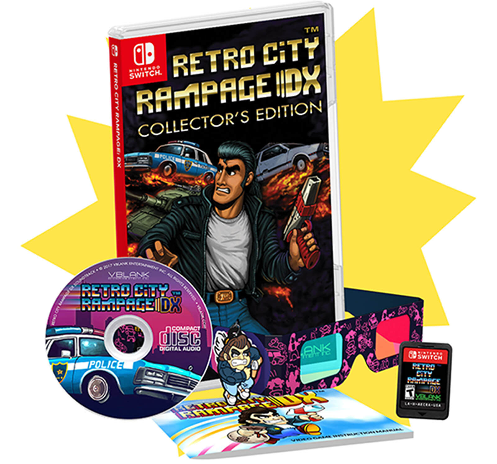 Retro City Rampage DX para nintendo Switch