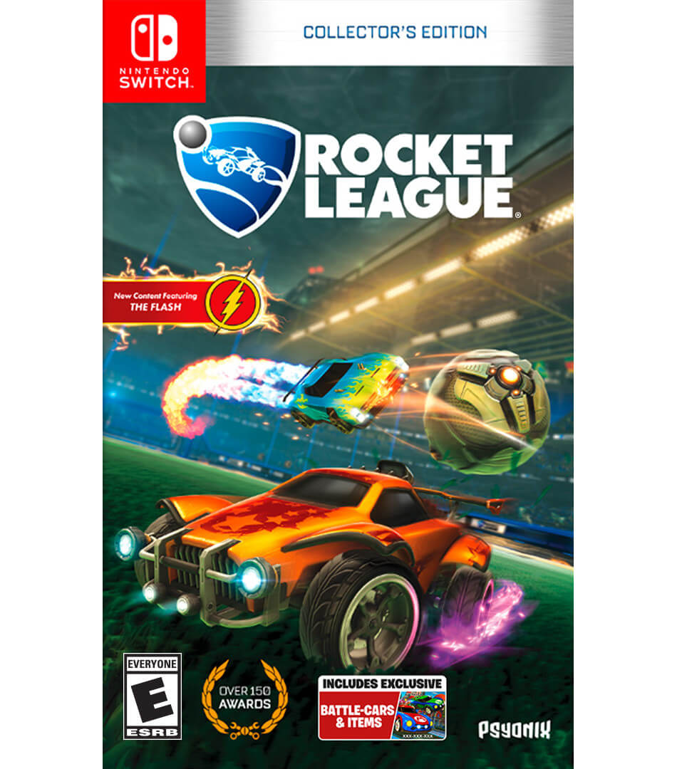 Caixa de Rocket League para Nintendo Switch
