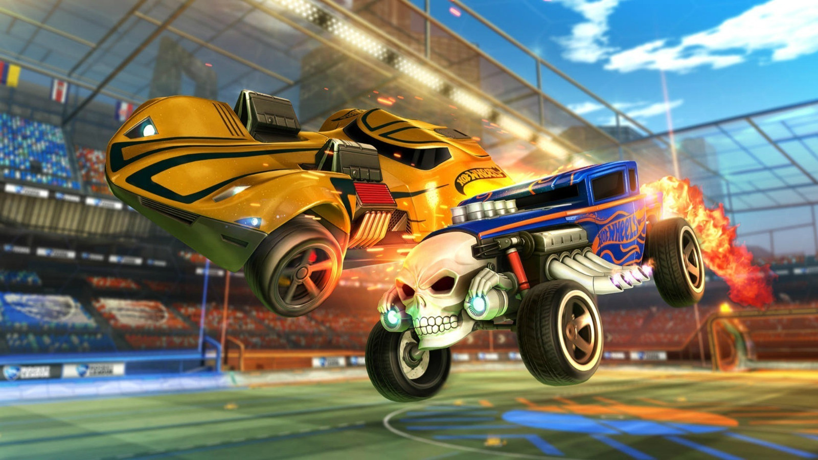 Hot Wheels no Rocket League
