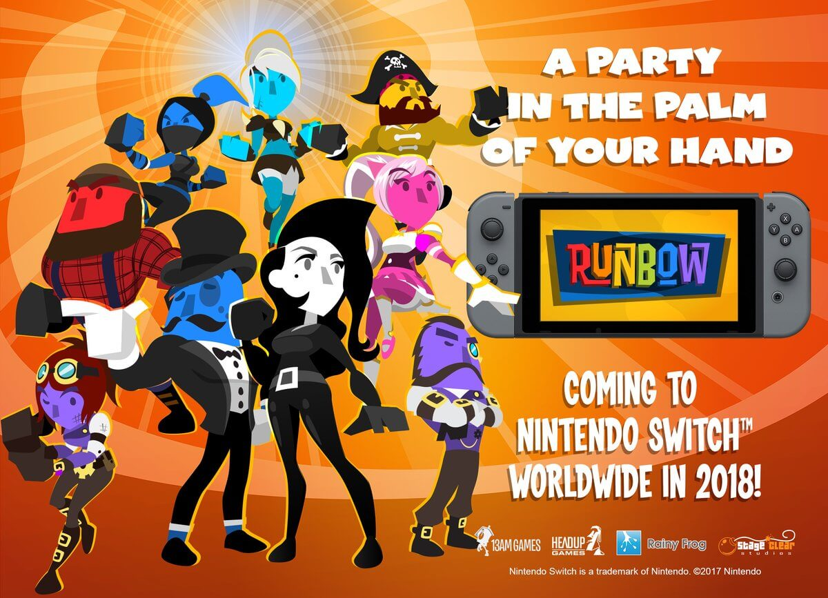 Runbow para Switch