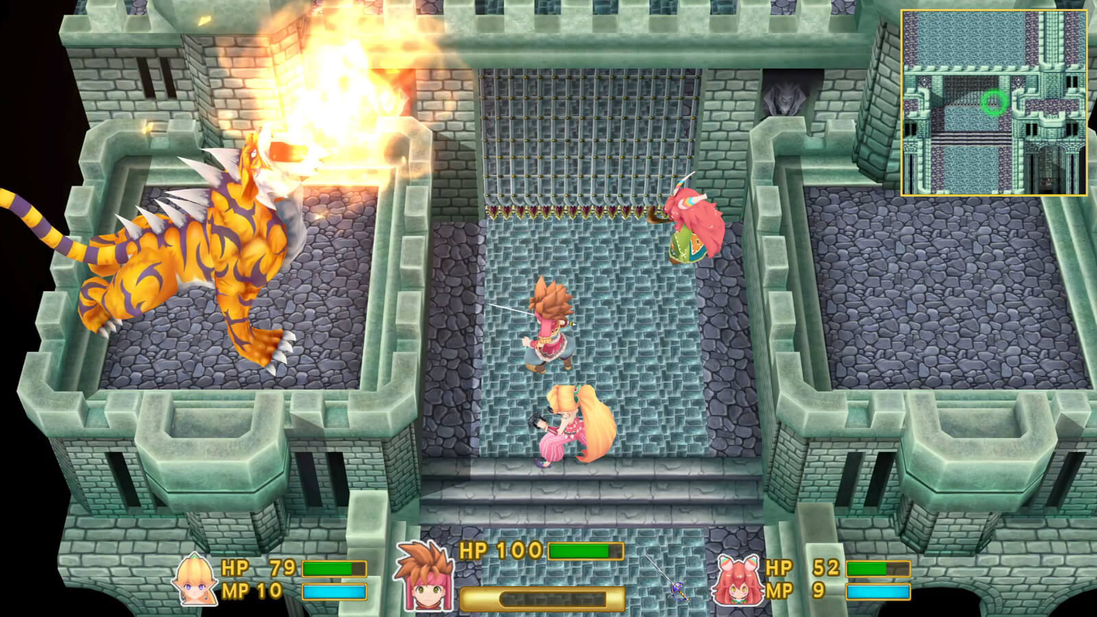 Screenshot de Secret of Mana