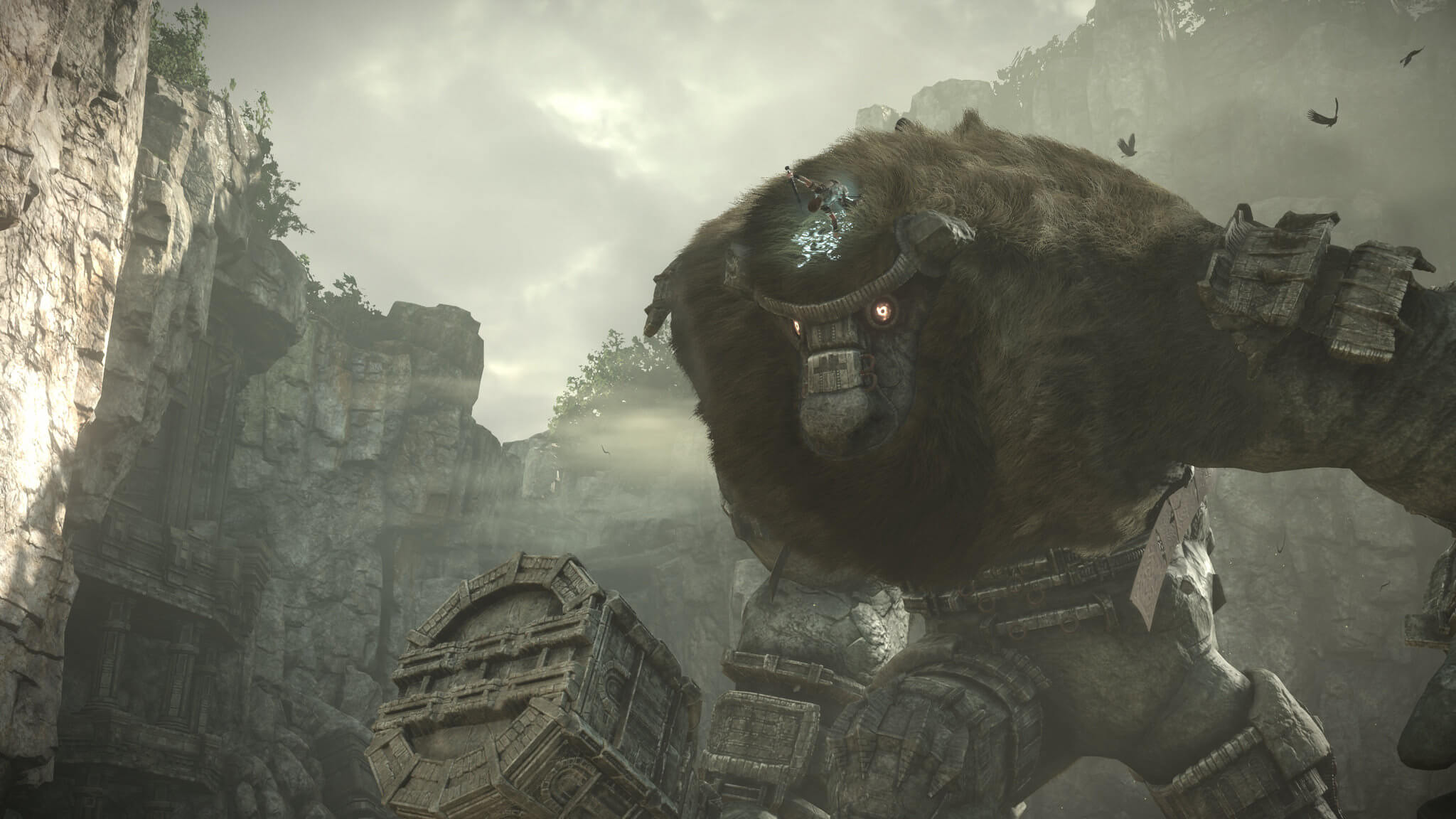 Screenshot de Shadow of the Colossus