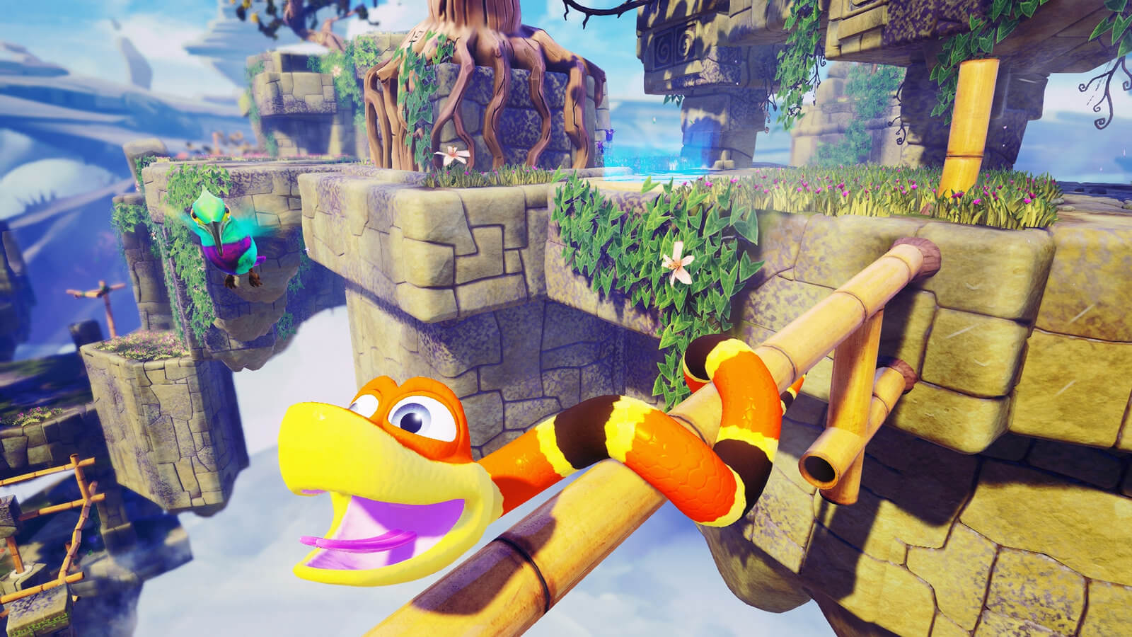 Screenshot de Snake Pass