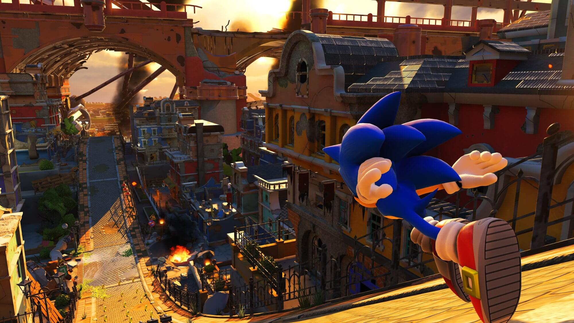 Screenshots de Sonic Forces