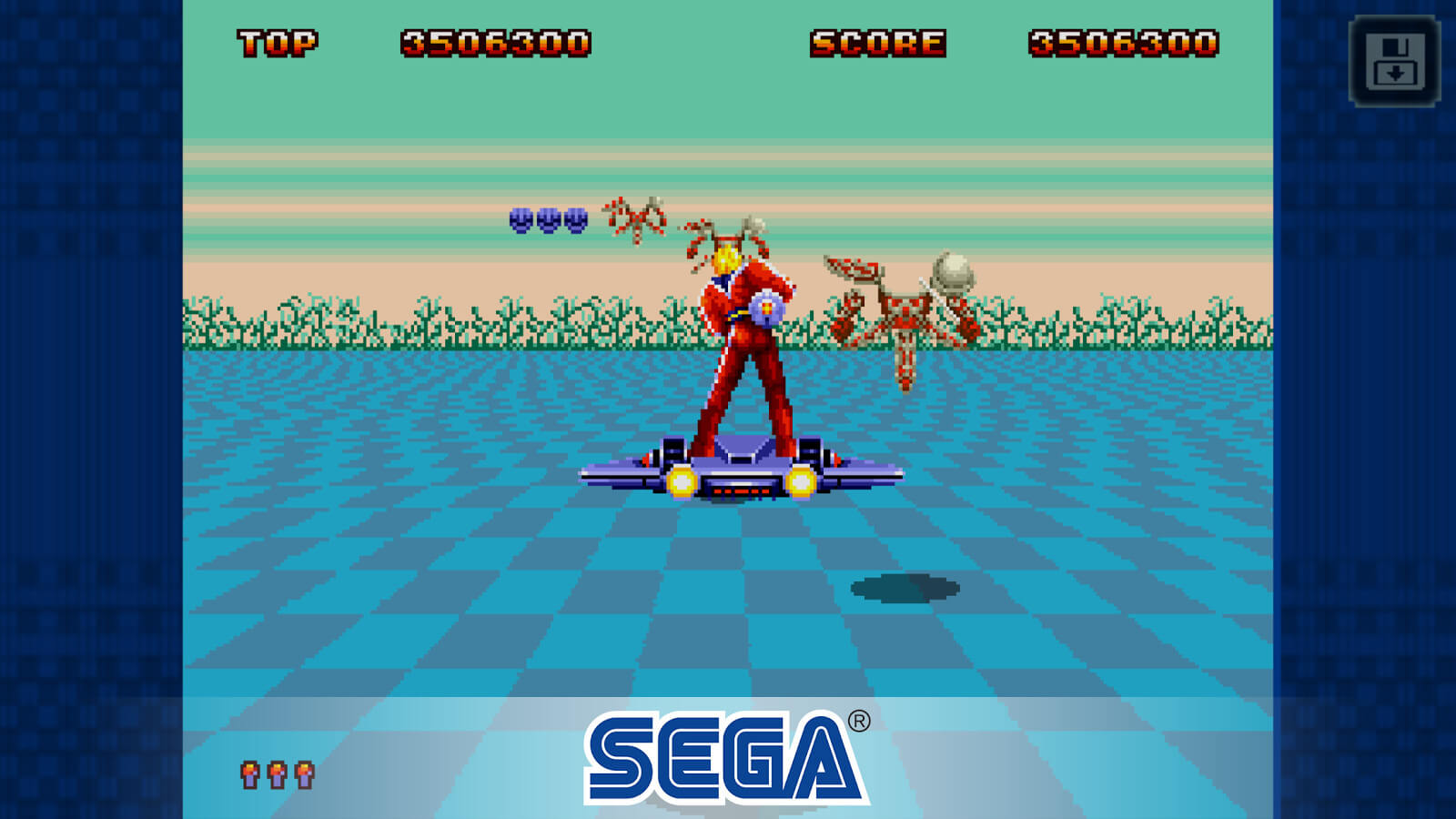 Space Harrier II no Sega Forever