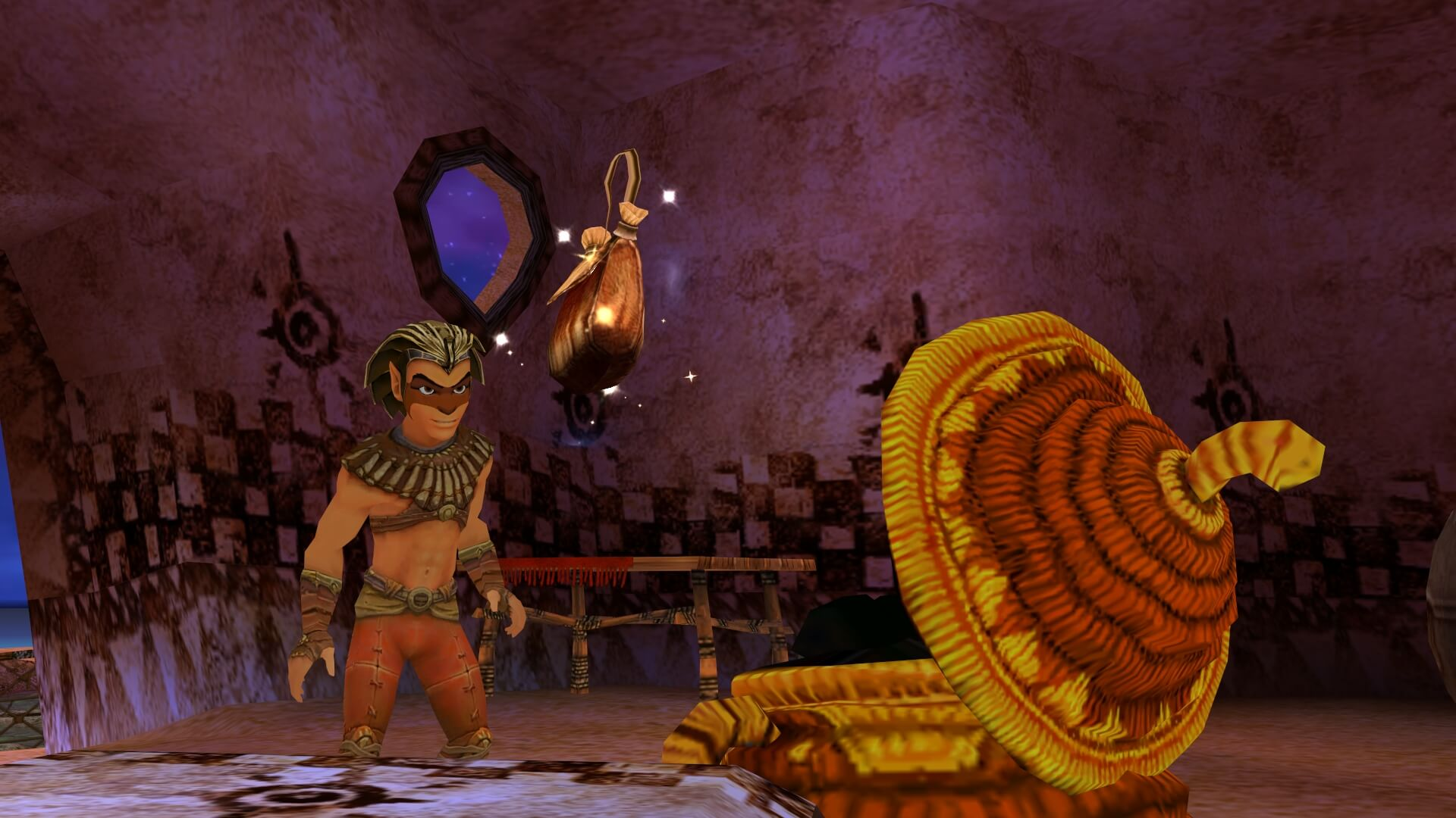 Screenshot de Sphinx and the Cursed Mummy