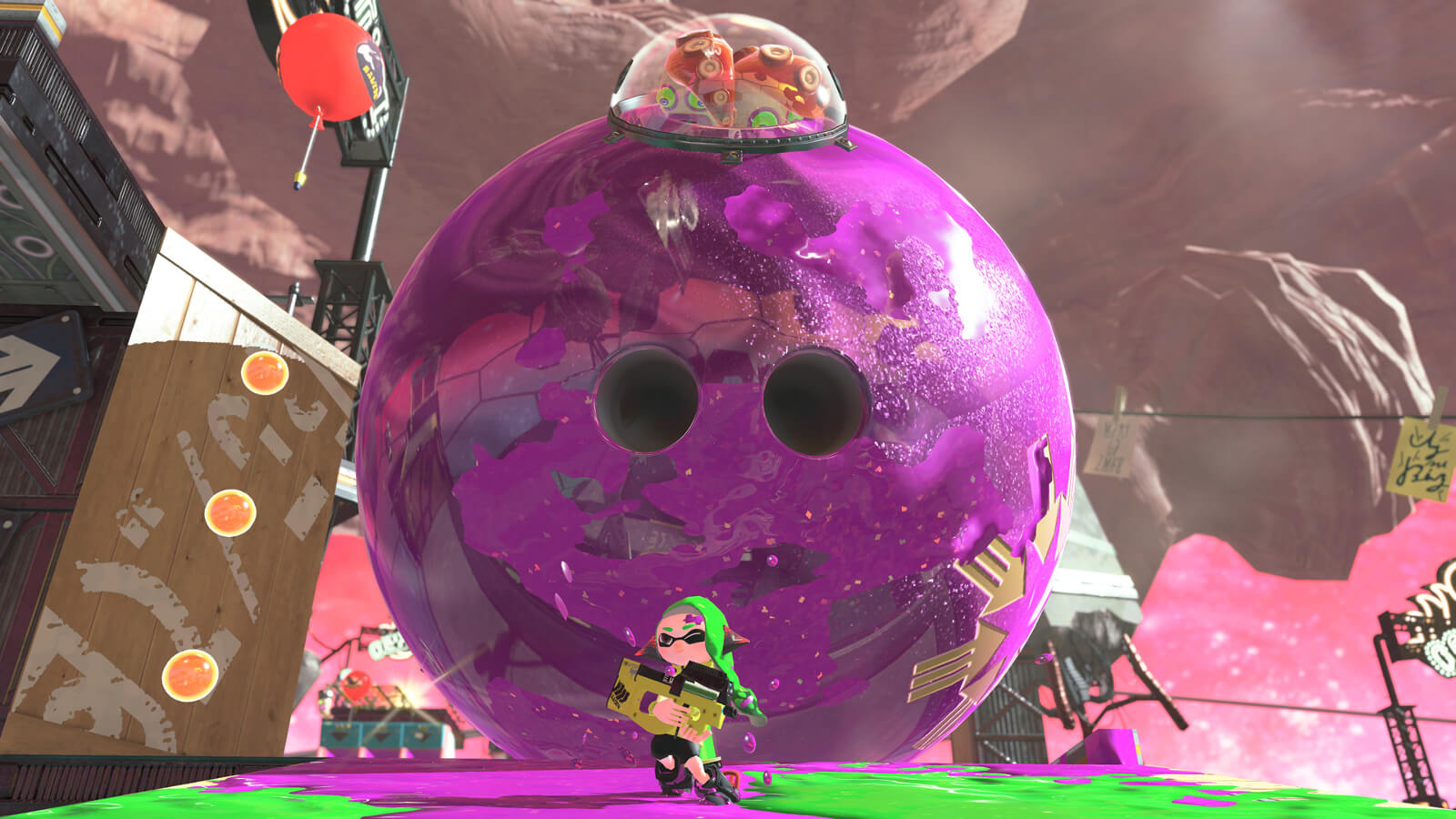 Screenshot de Splatoon 2