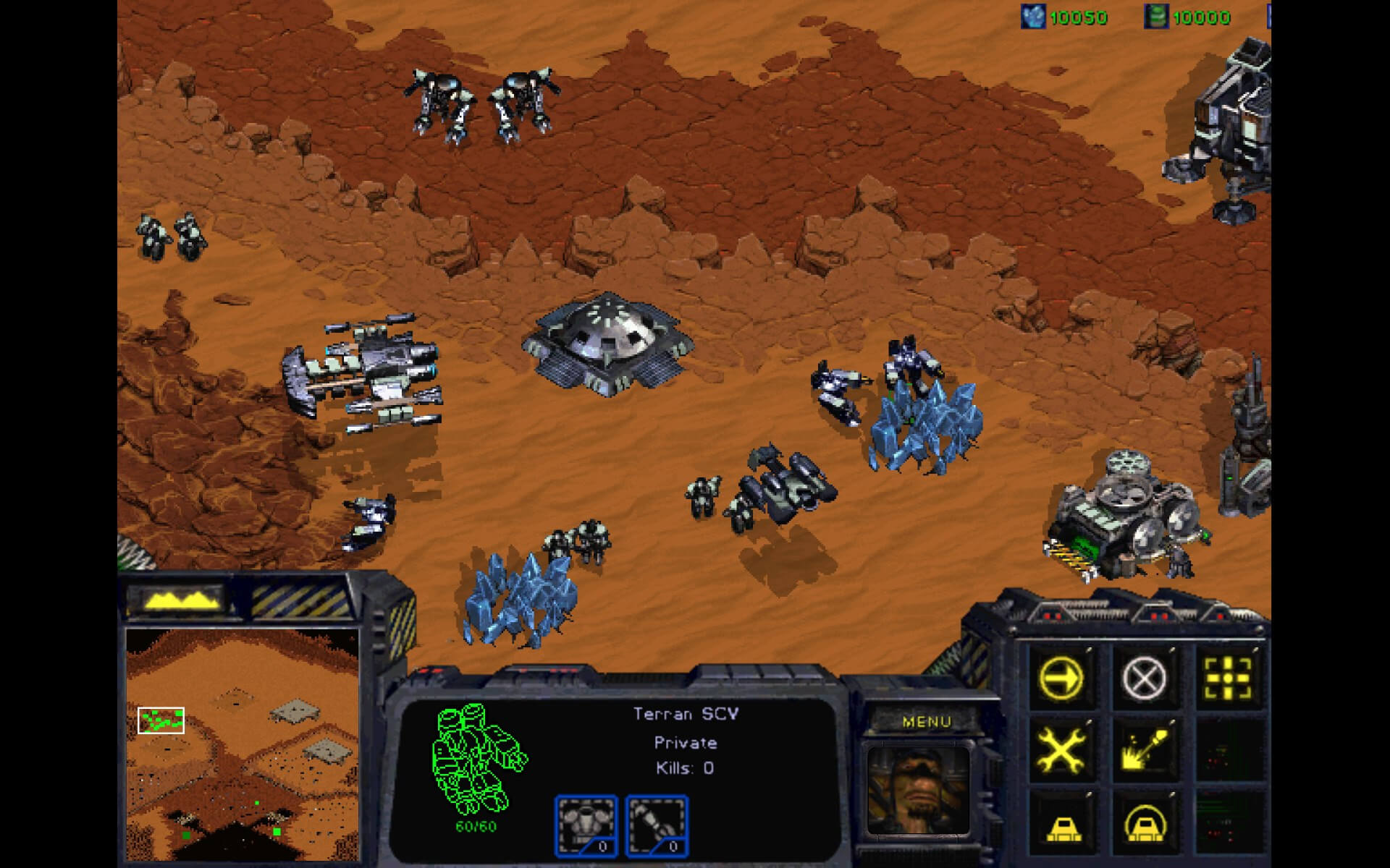 Screenshot de StarCraft