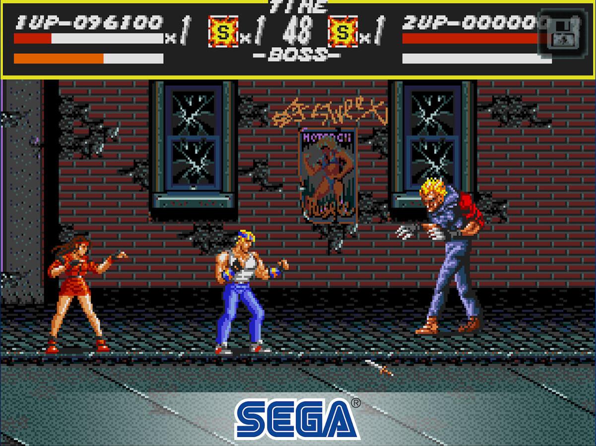 Streets of Rage lançado no Sega Forever