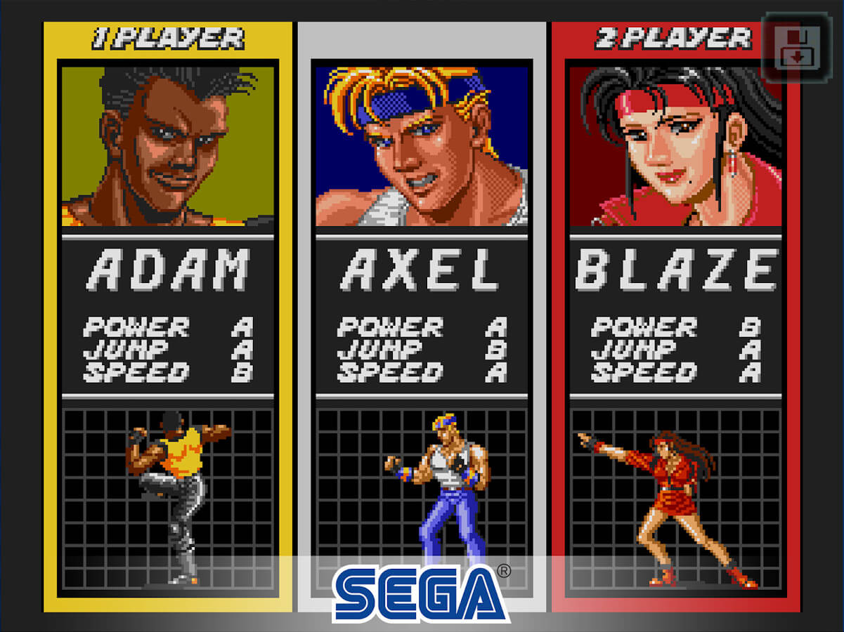 Screenshot de Streets of Rage