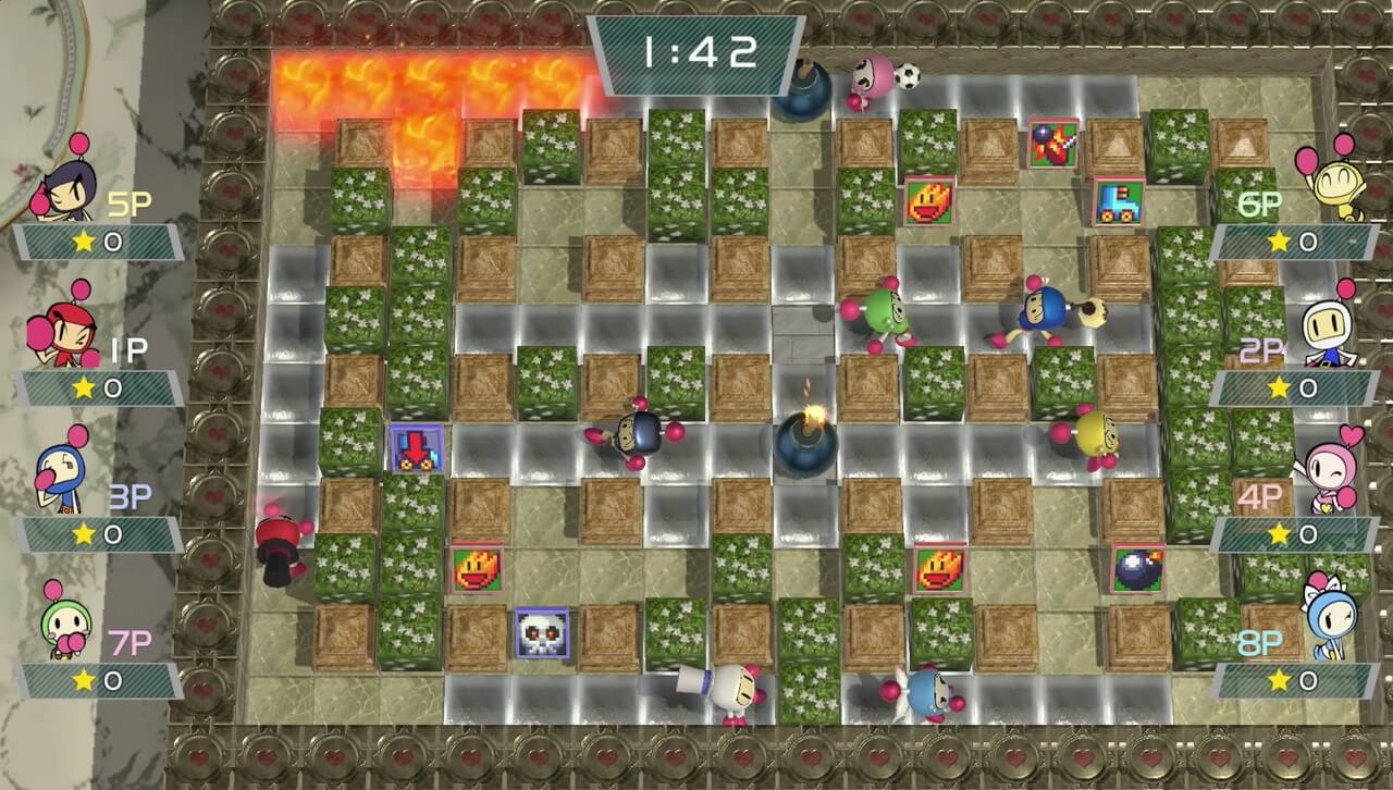Screenshot de Super Bomberman R