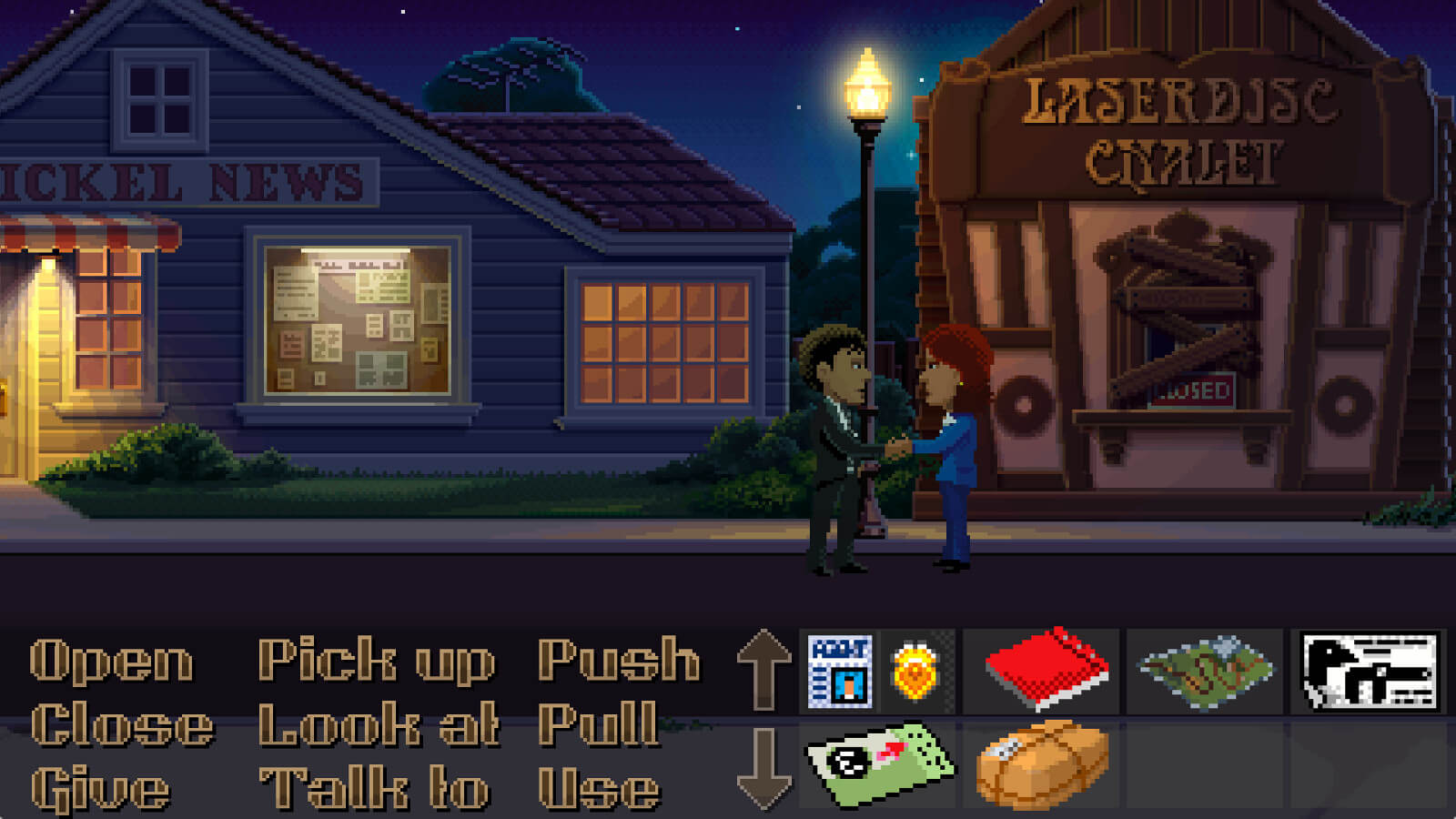Screenshot de Thimbleweed Park