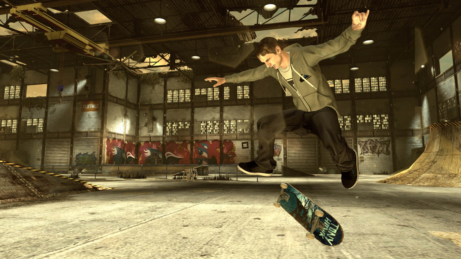 Screenshot de Tony Hawk's Pro Skater HD