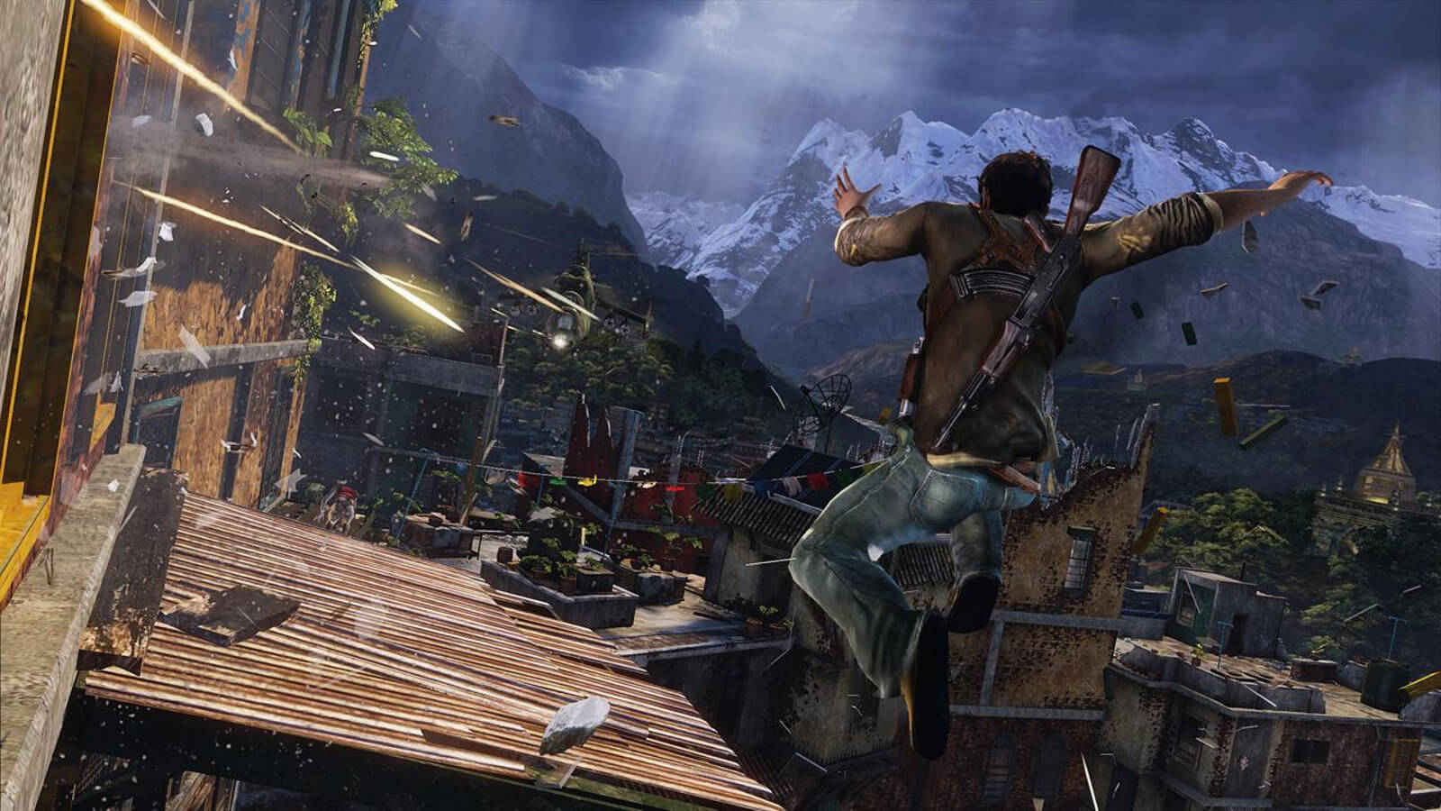 Screenshot de Uncharted 2