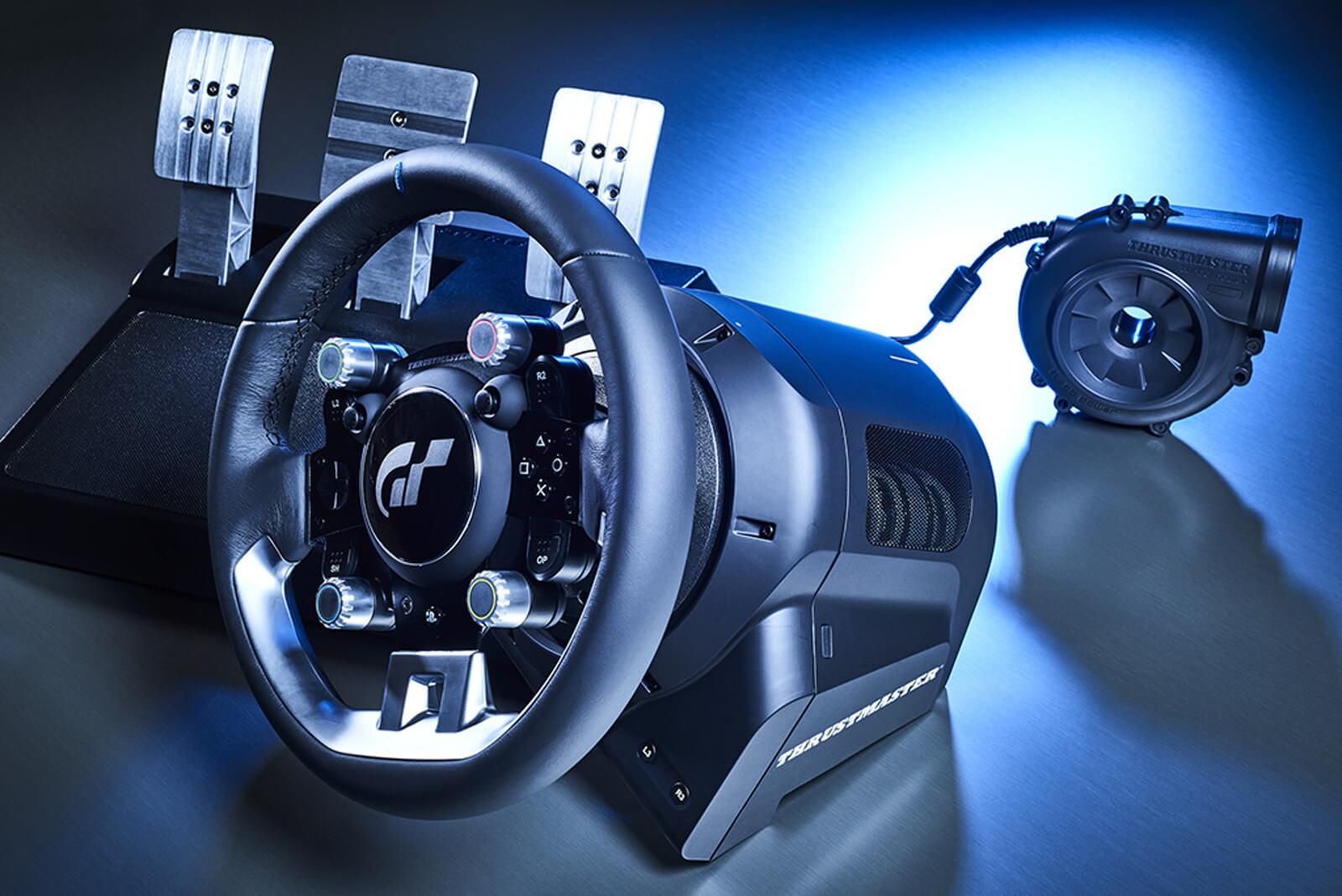 thrustmaster t gt o volante oficial para gran turismo sport jogorama. Black Bedroom Furniture Sets. Home Design Ideas