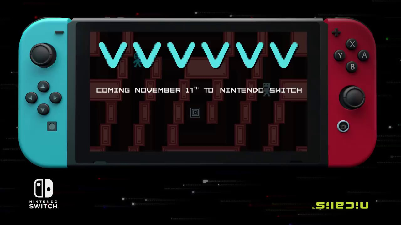 VVVVVV no Nintendo Switch