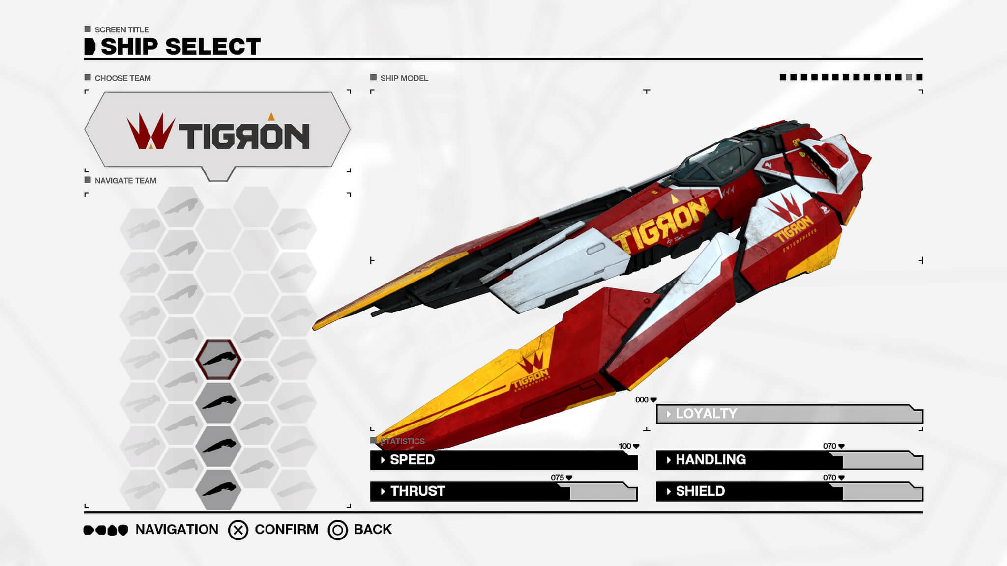 WipEout Omega Collection terá nave inédita chamada Tigron K-VSR