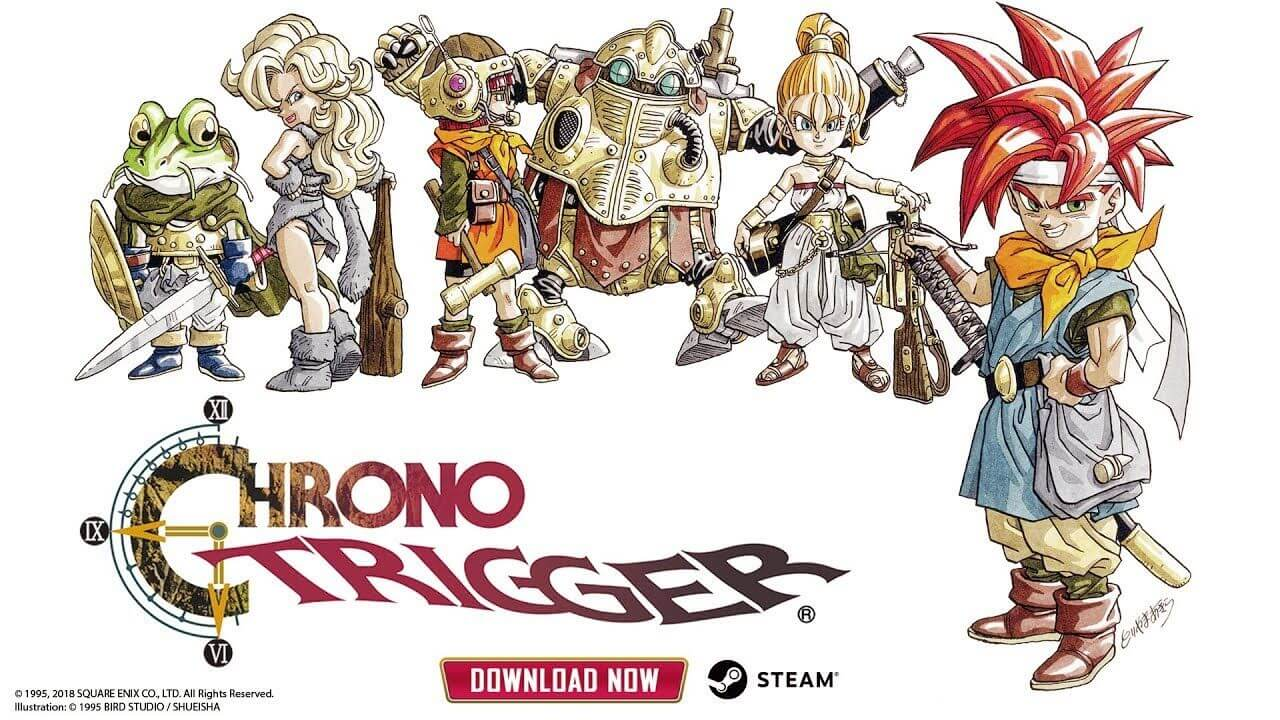 Chrono Trigger lançado no Steam