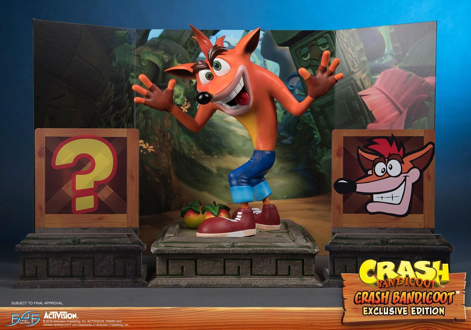 Estátua de Crash Bandicoot