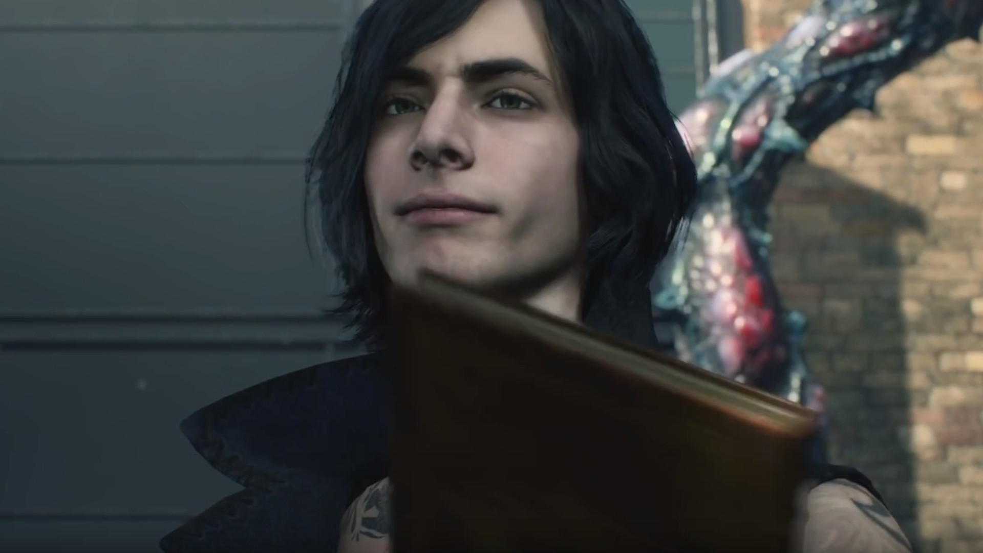 V em Devil May Cry 5