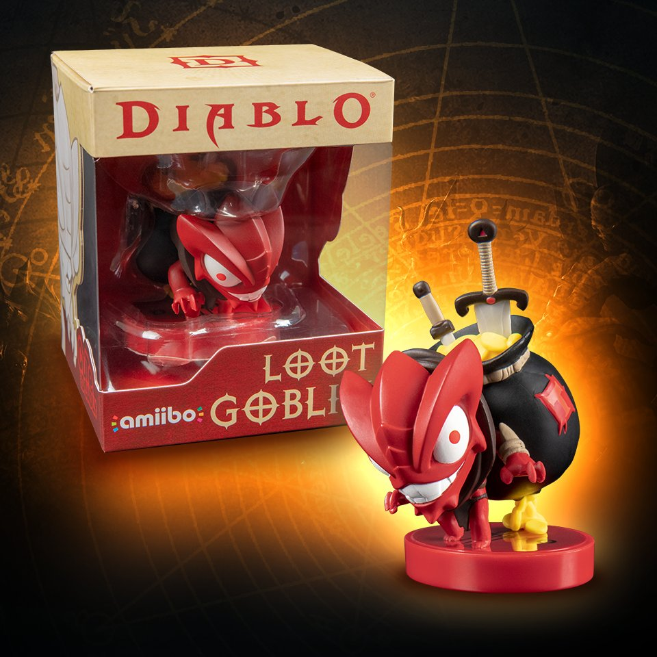 Amiibo para Diablo III: Eternal Collection
