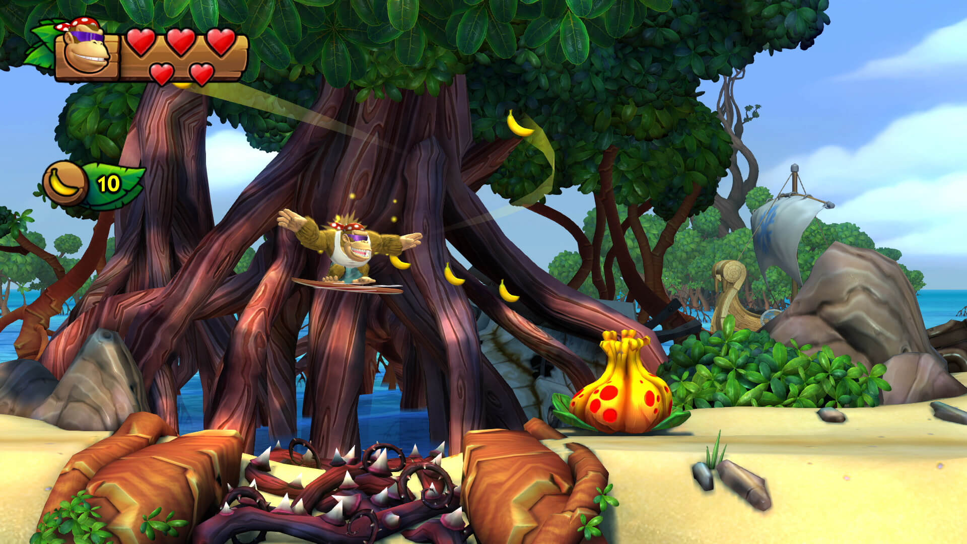 Screenshot de Donkey Kong Country: Tropical Freeze