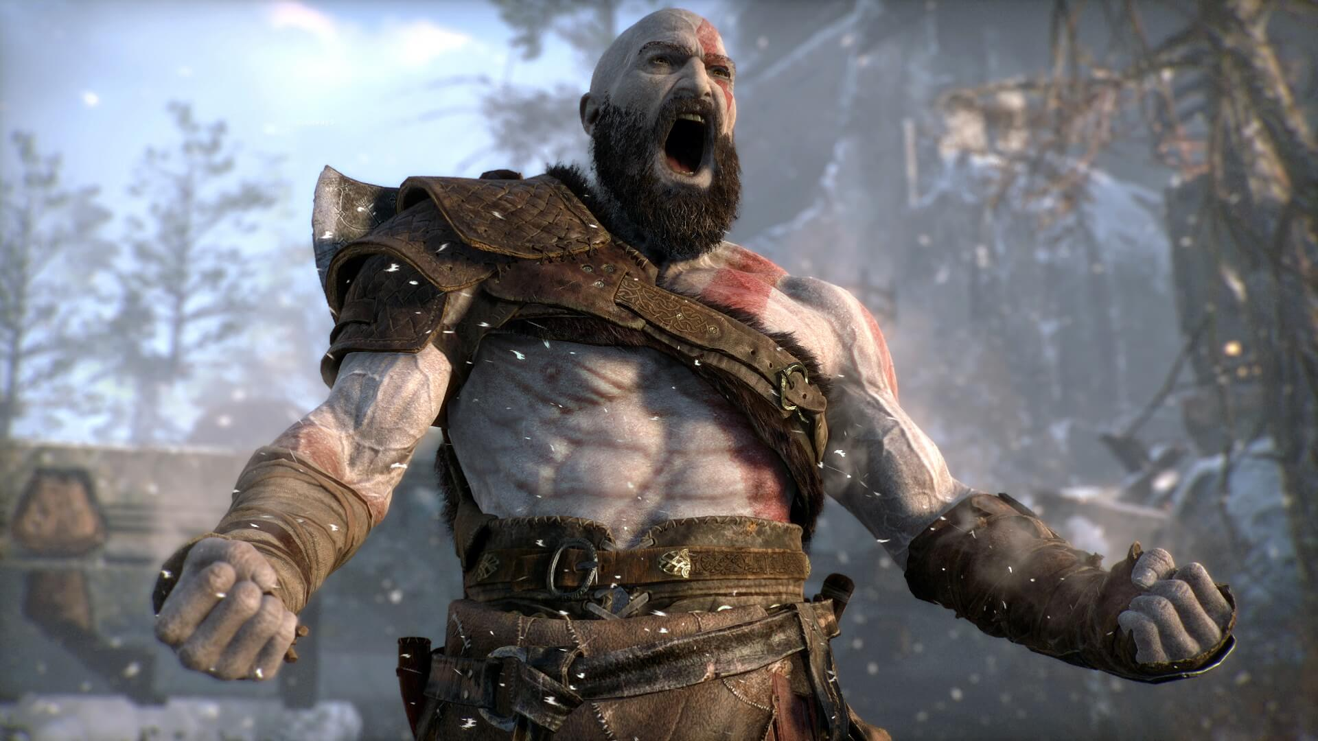 Screenshot de God of War