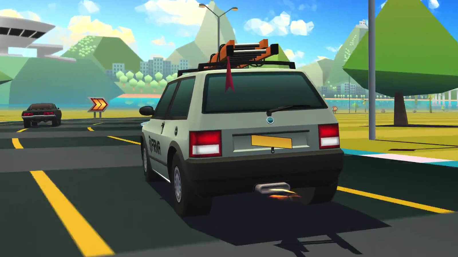 Carro de firma no Horizon Chase Turbo