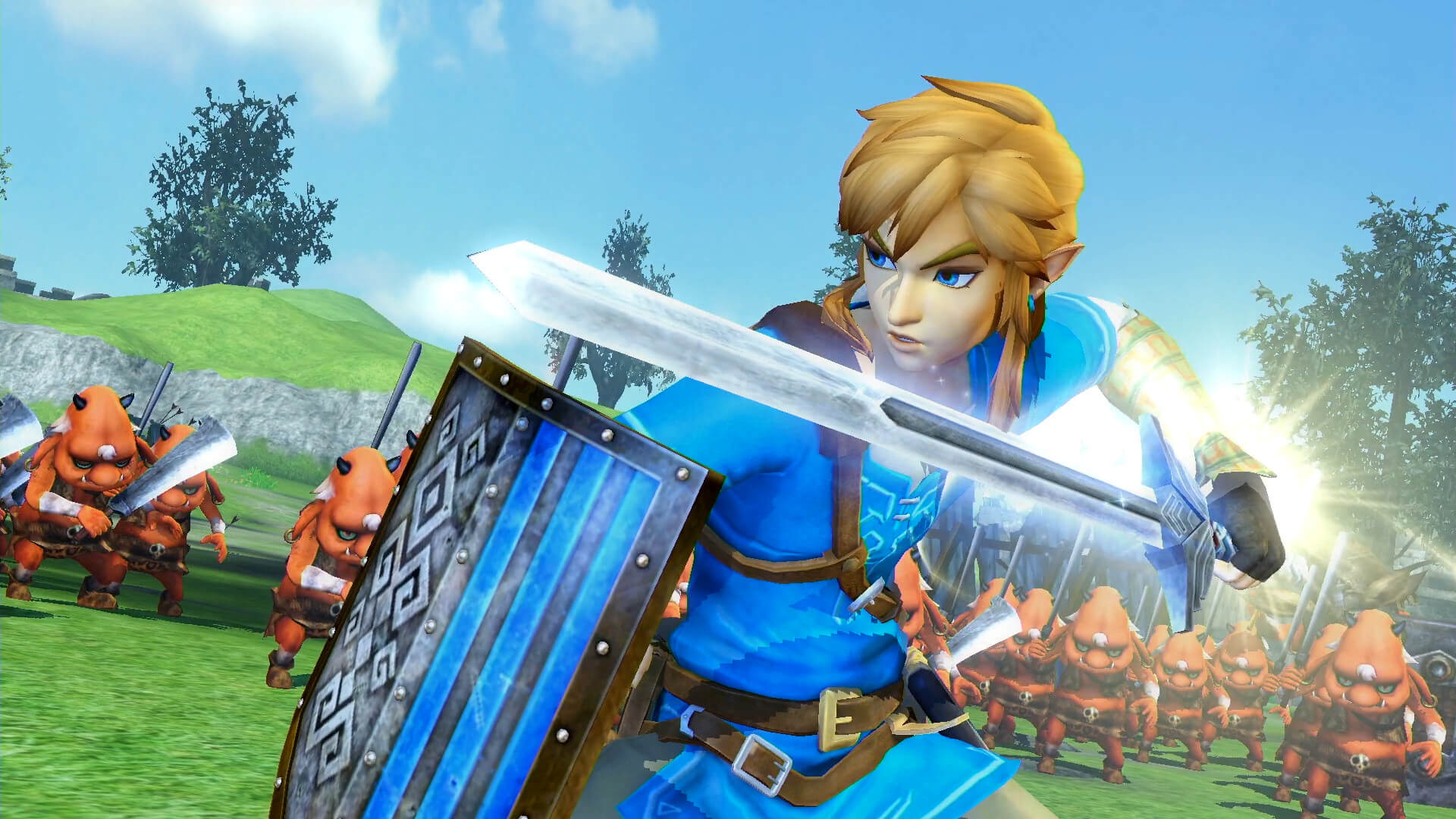 Screenshot de Hyrule Warriors: Definitive Edition