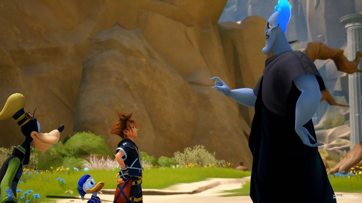 Screenshots de Kingdom Hearts III