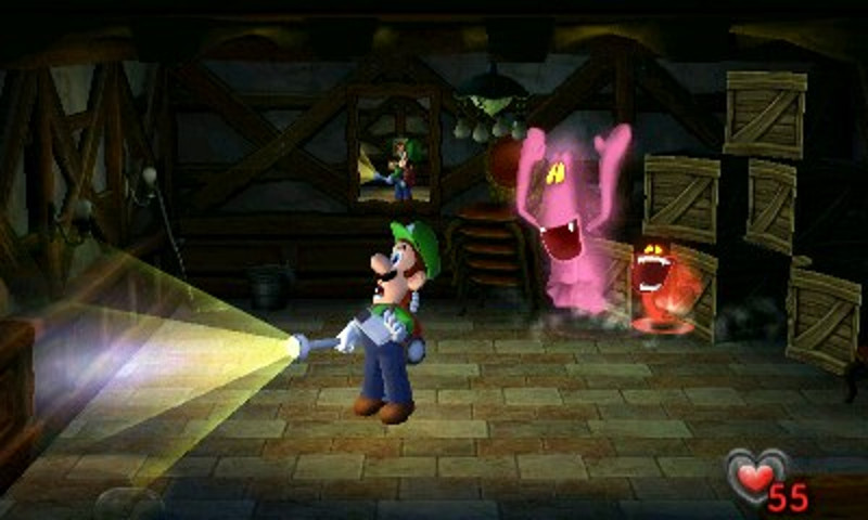 Screenshot de Luigi's Mansion