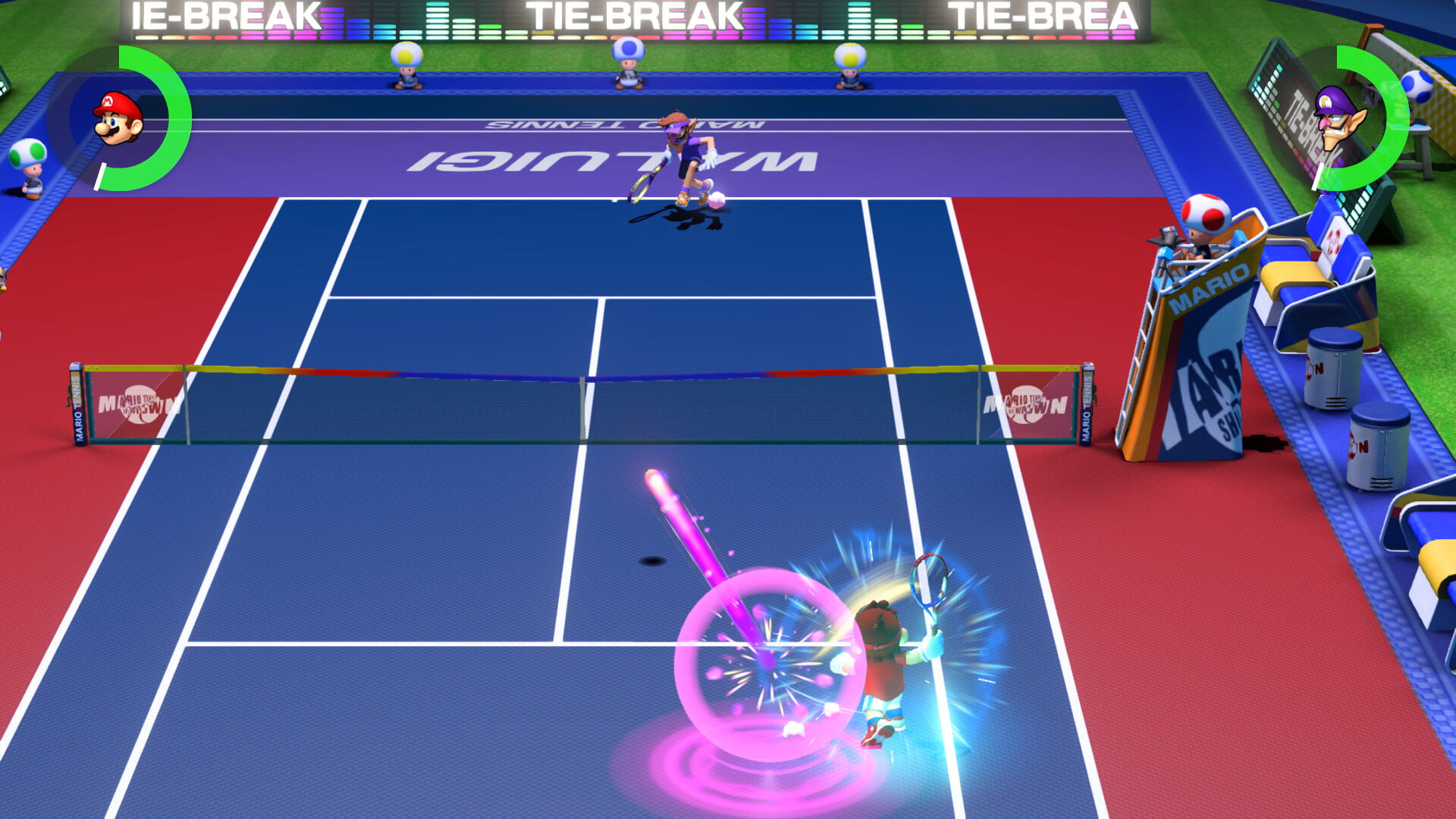 Screenshot de Mario Tennis Aces