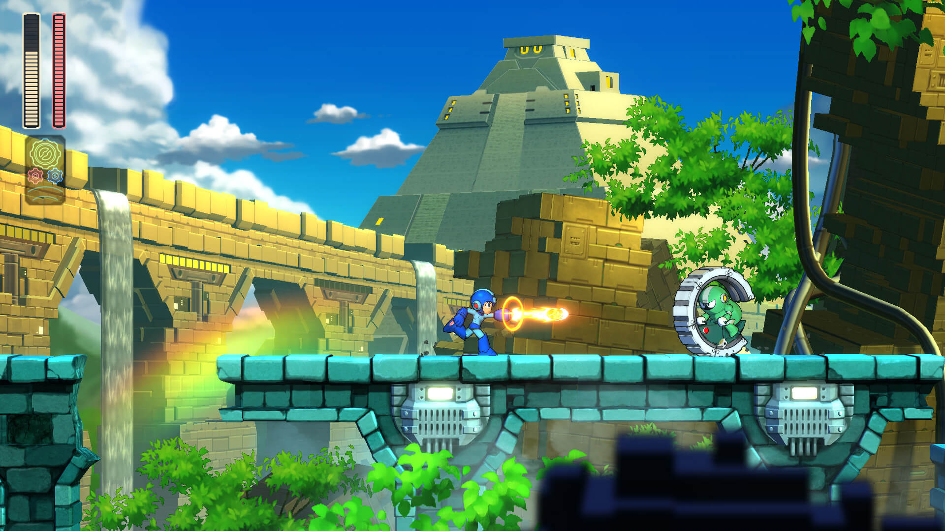 Screenshot de Mega Man 11