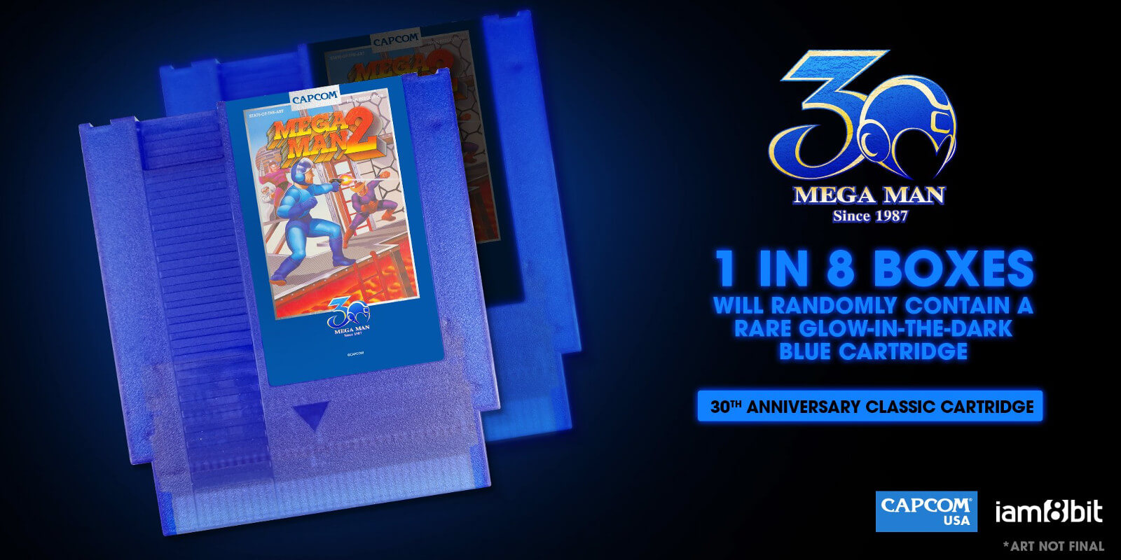 iam8bit lança cartucho do Mega Man 2