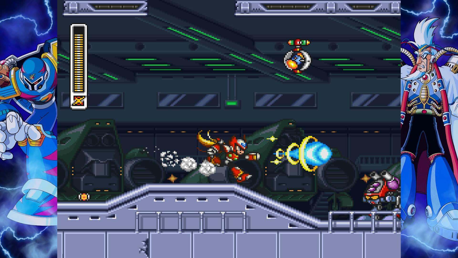 Screenshot de Mega Man X Legacy Collection 1 e 2