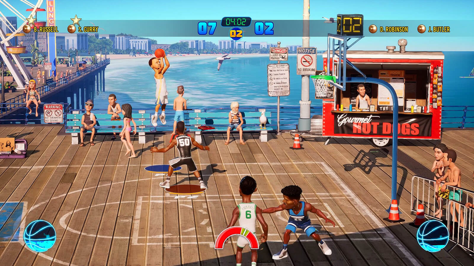 Screenshot de NBA Playgrounds 2